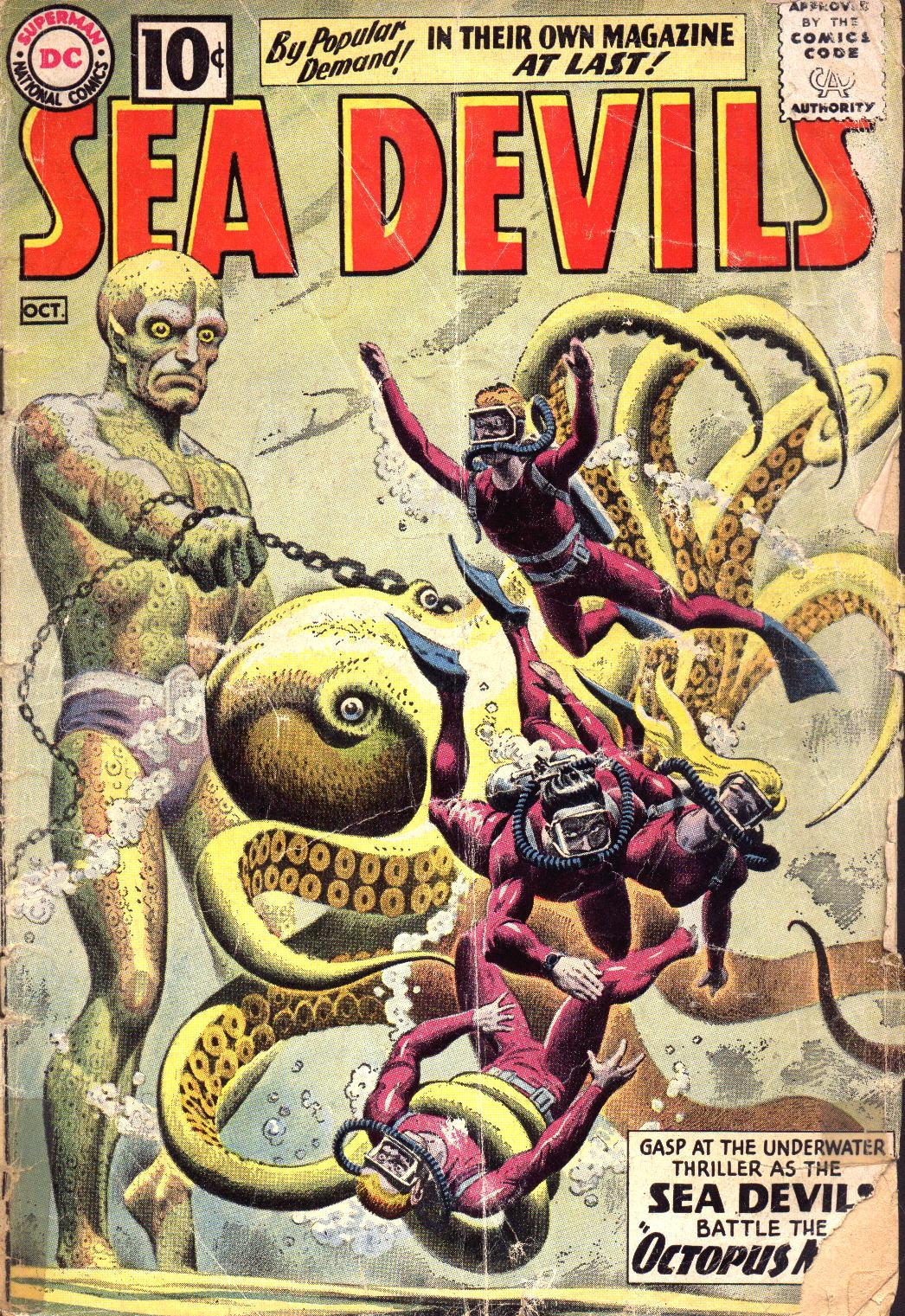 Read online Sea Devils comic -  Issue #1 - 2