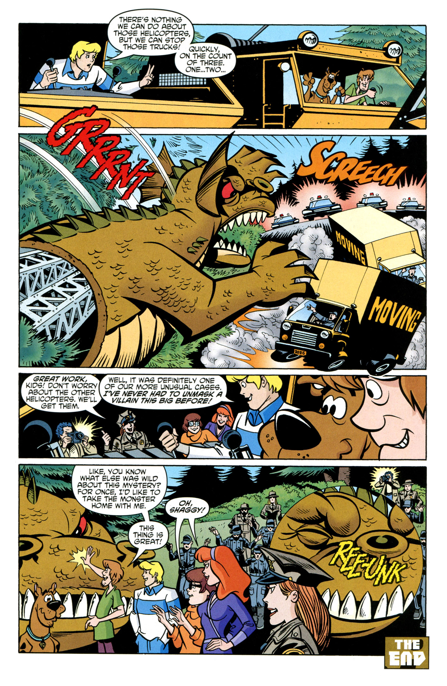 Read online Scooby-Doo: Where Are You? comic -  Issue #25 - 29