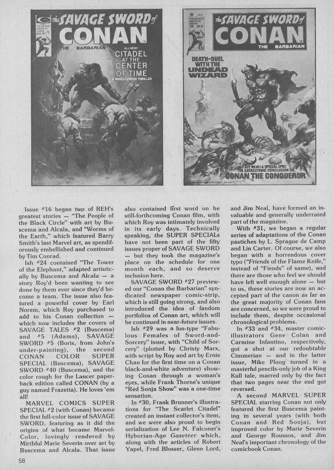 The Savage Sword Of Conan Issue #50 #51 - English 58