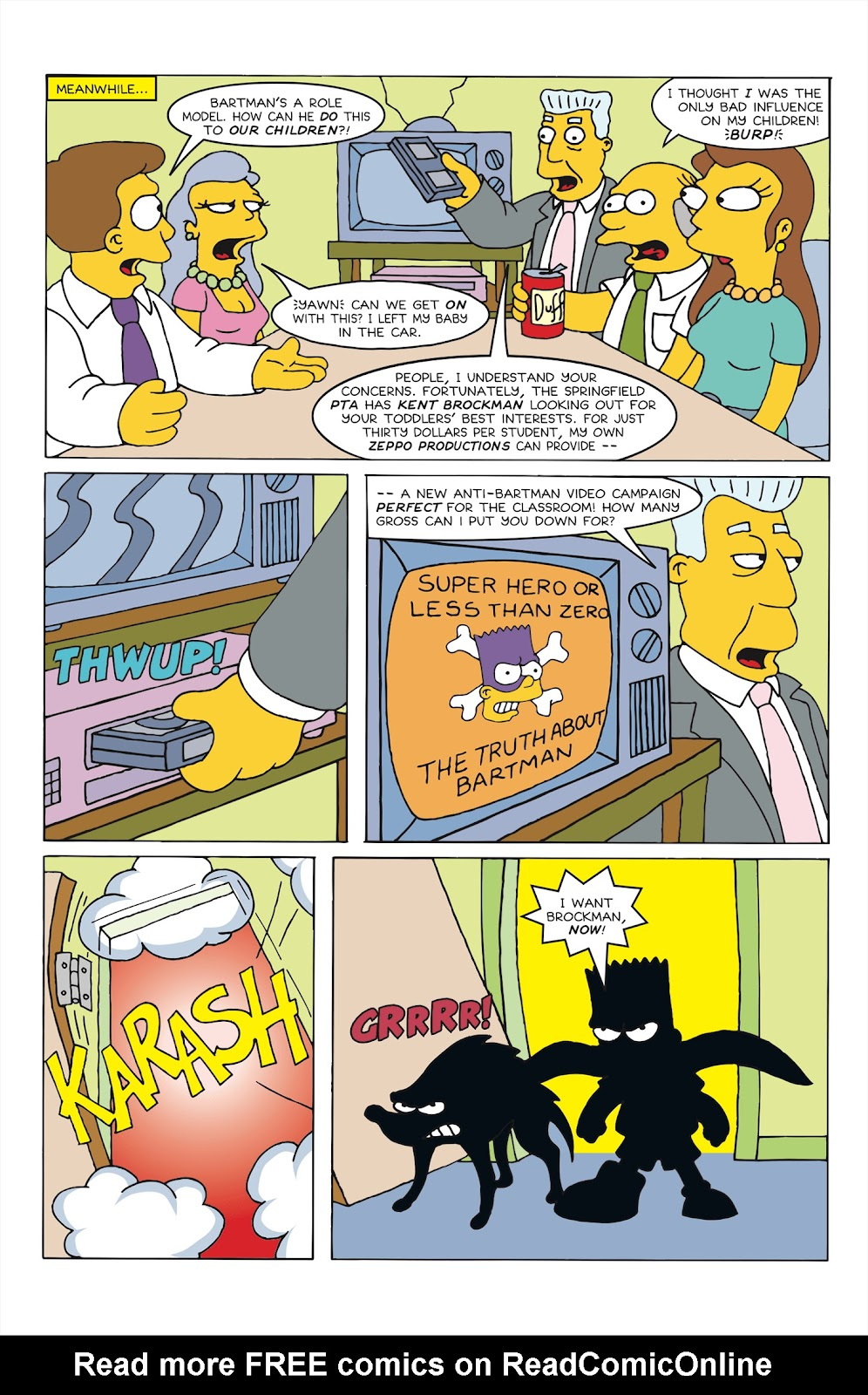 Read online Bartman comic -  Issue #6 - 12