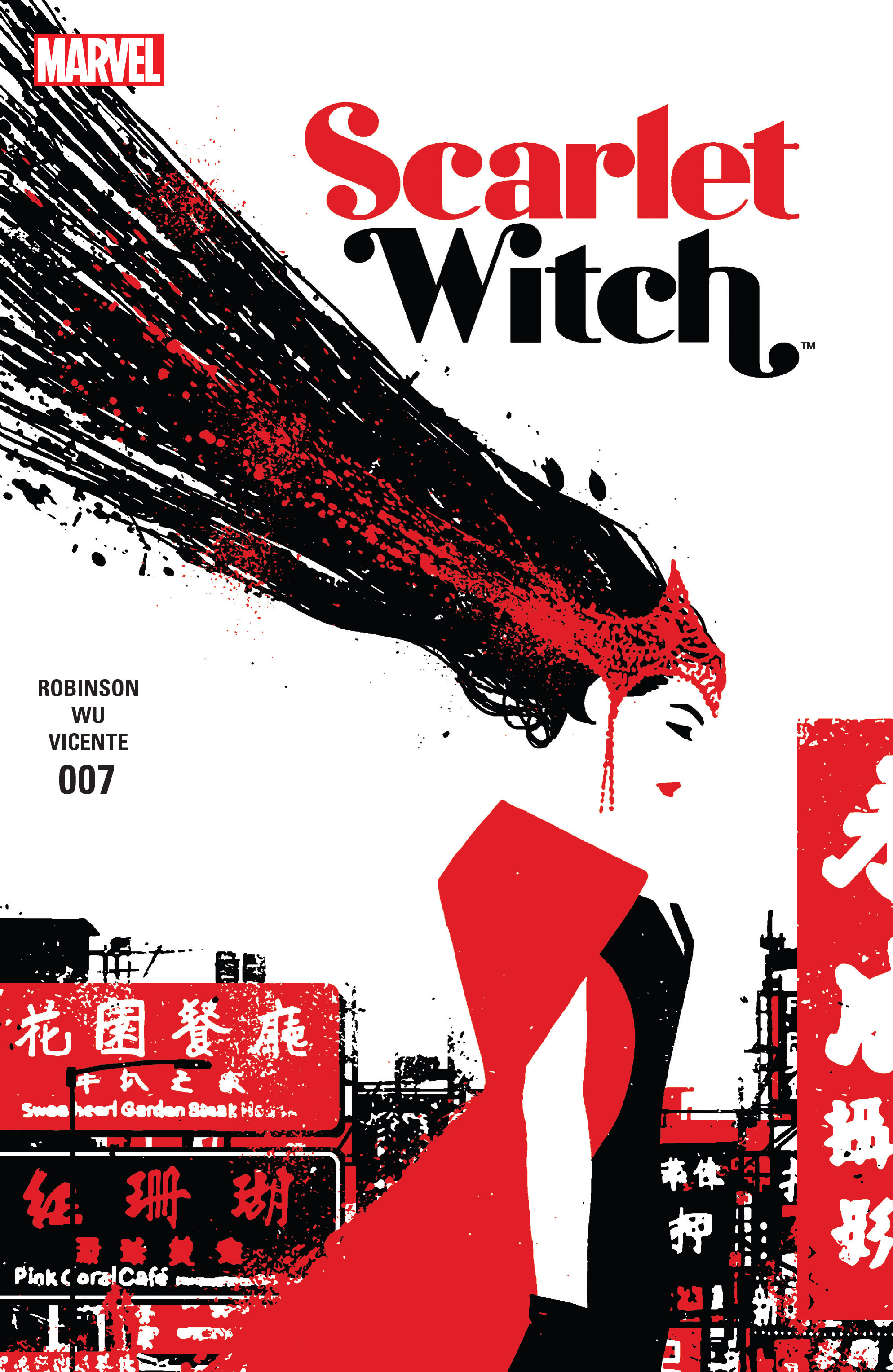 Read online Scarlet Witch (2016) comic -  Issue #7 - 1