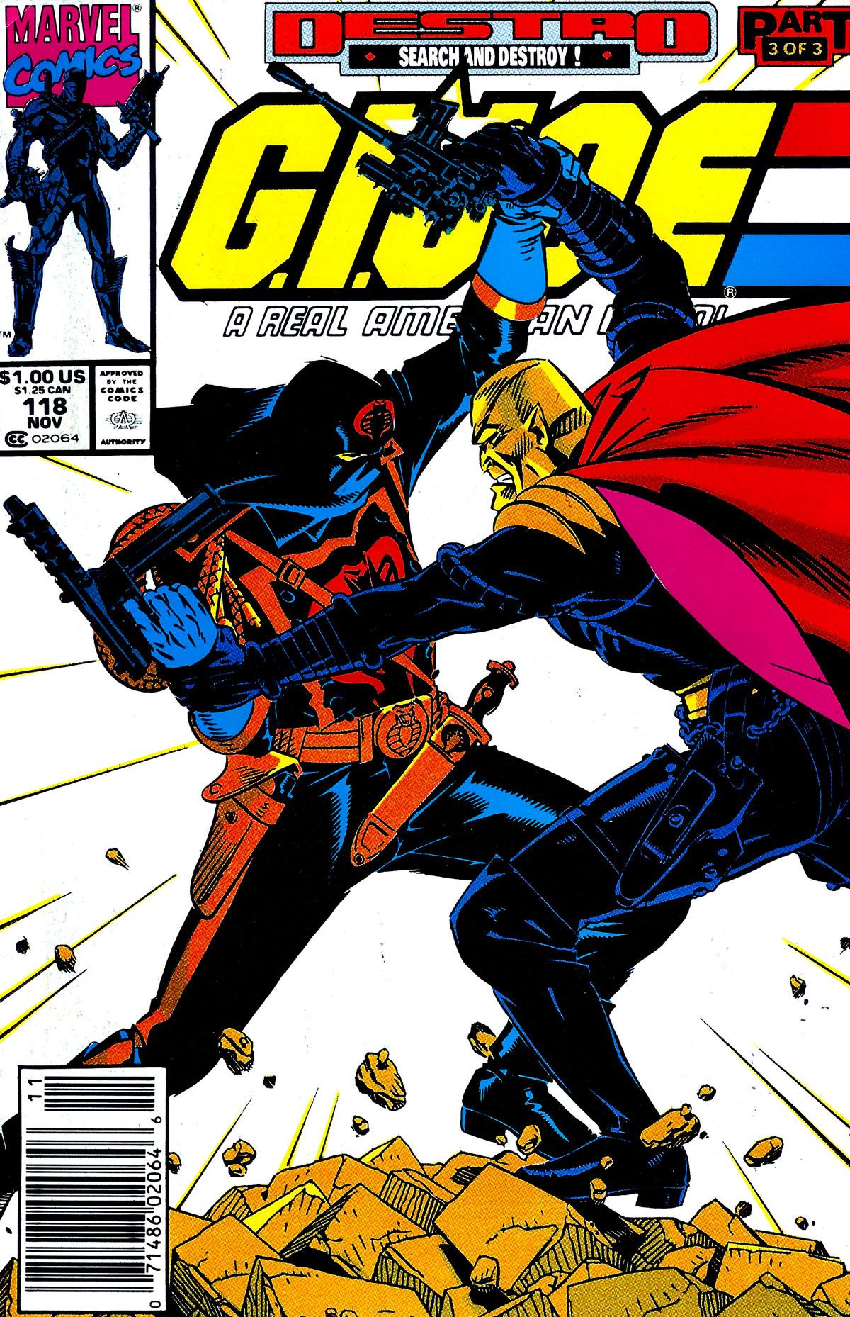 G.I. Joe: A Real American Hero 118 Page 1