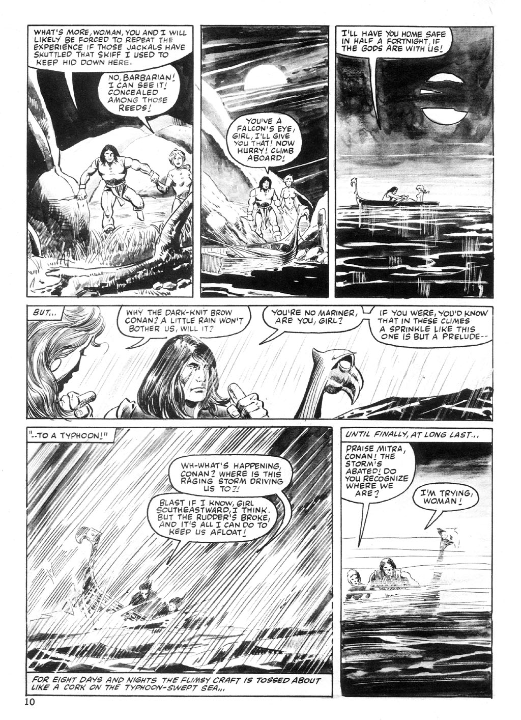 The Savage Sword Of Conan Issue #94 #95 - English 9