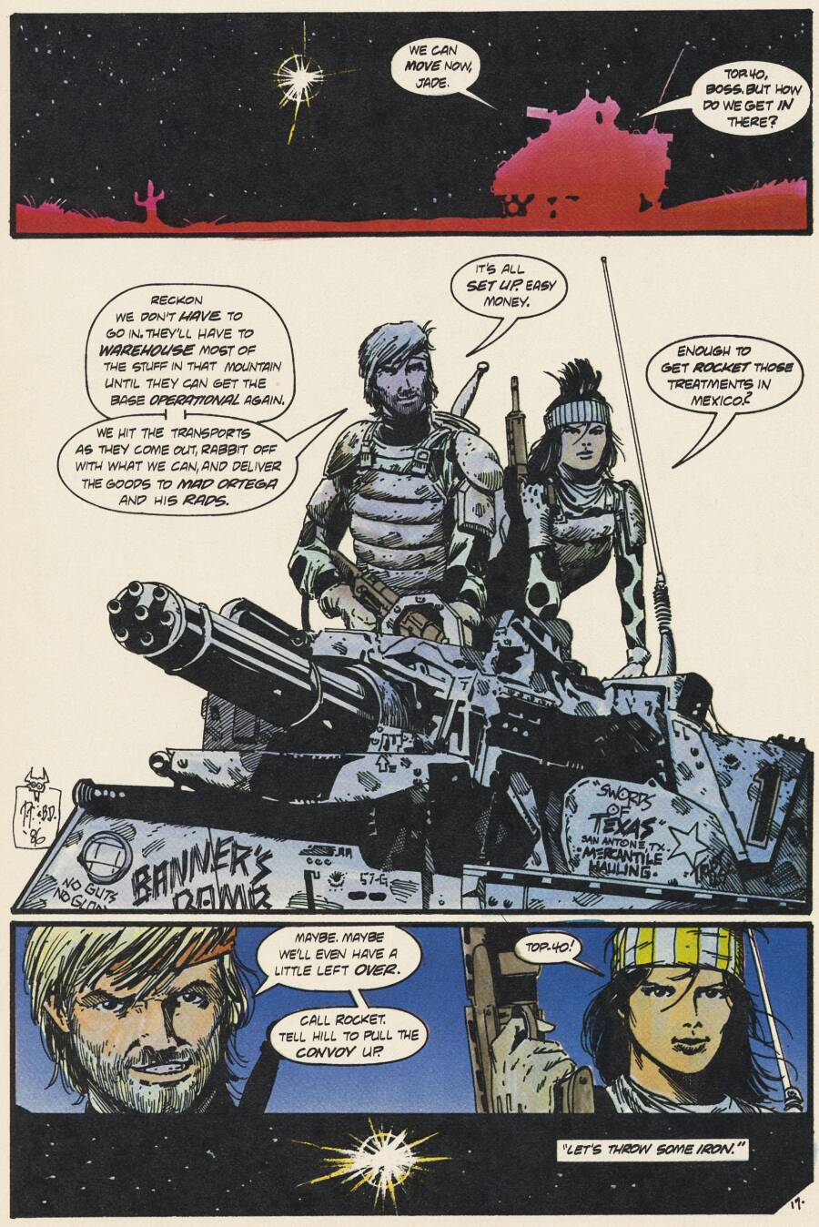 Read online Scout comic -  Issue #14 - 18