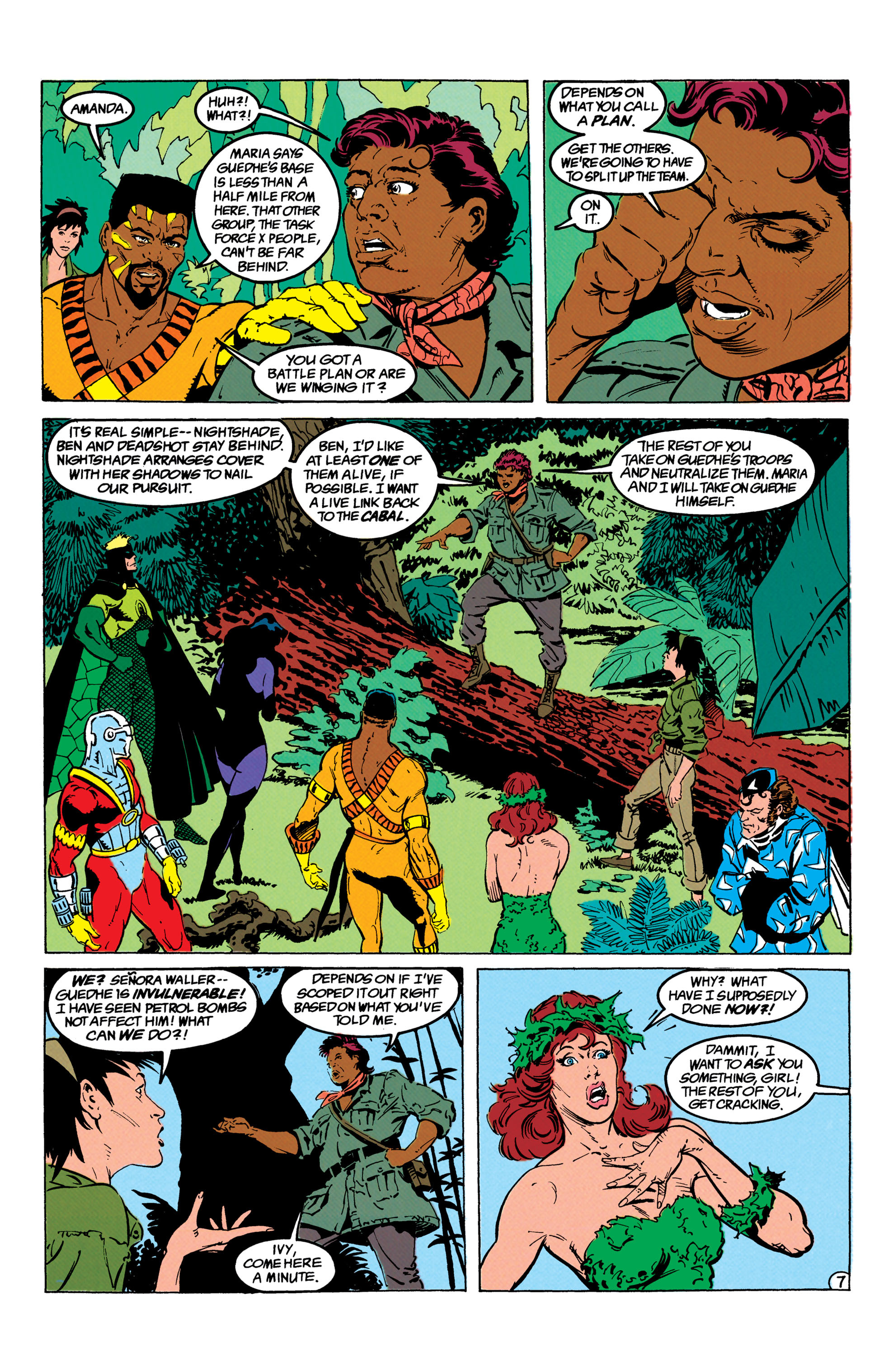 Read online Suicide Squad (1987) comic -  Issue #66 - 8