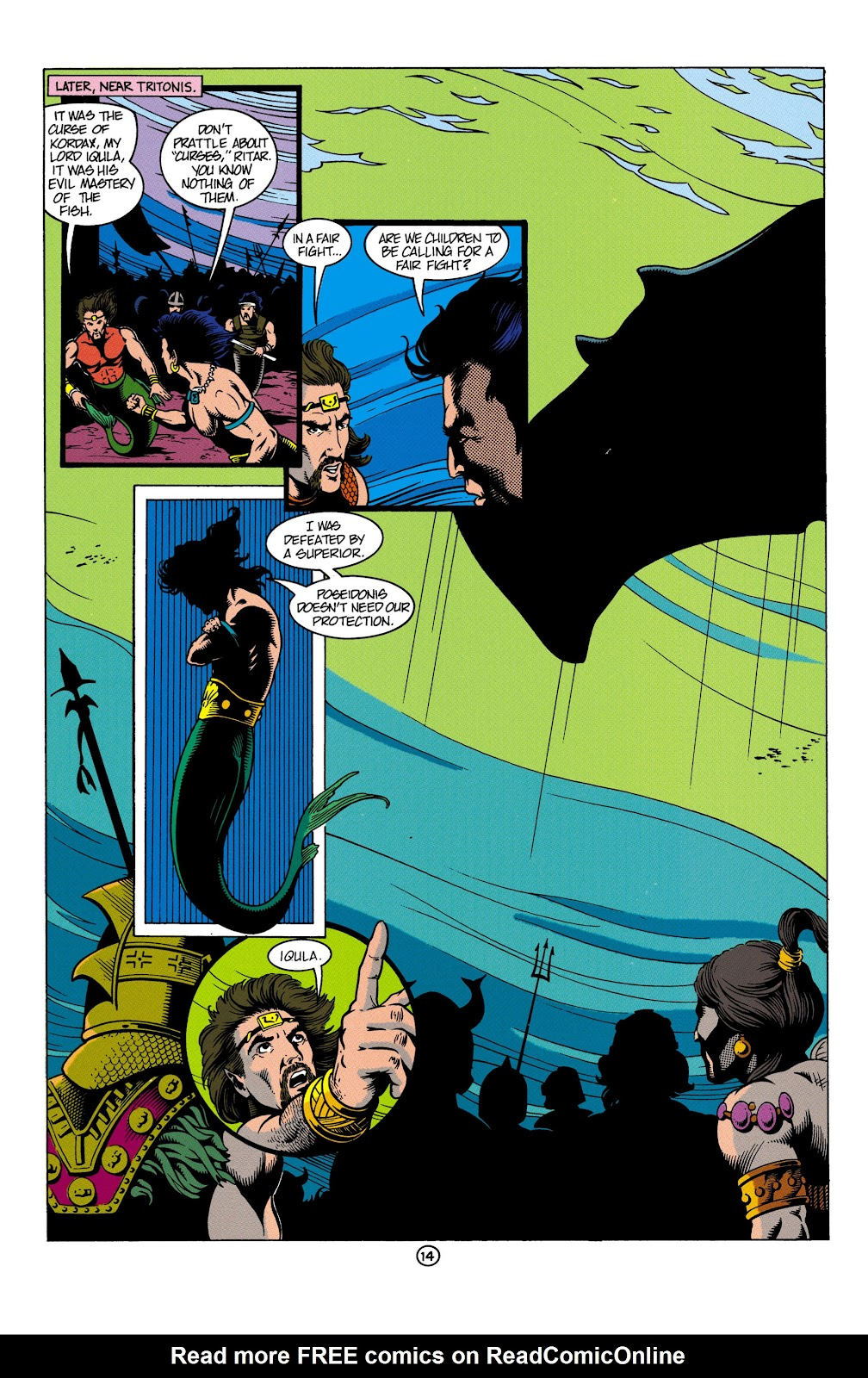 Aquaman (1991) Issue #4 #4 - English 15