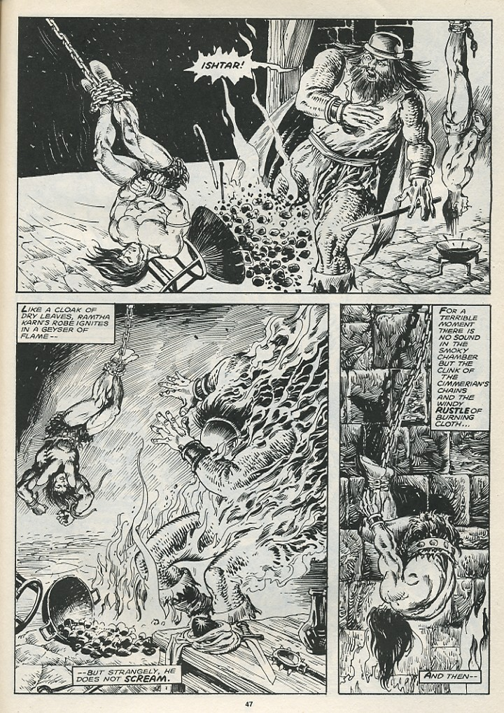 The Savage Sword Of Conan Issue #174 #175 - English 49