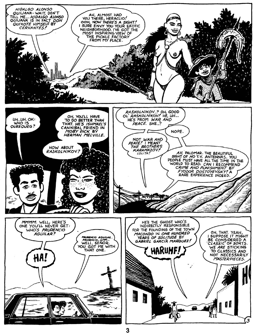 Love and Rockets (1982) Issue #16 #15 - English 5