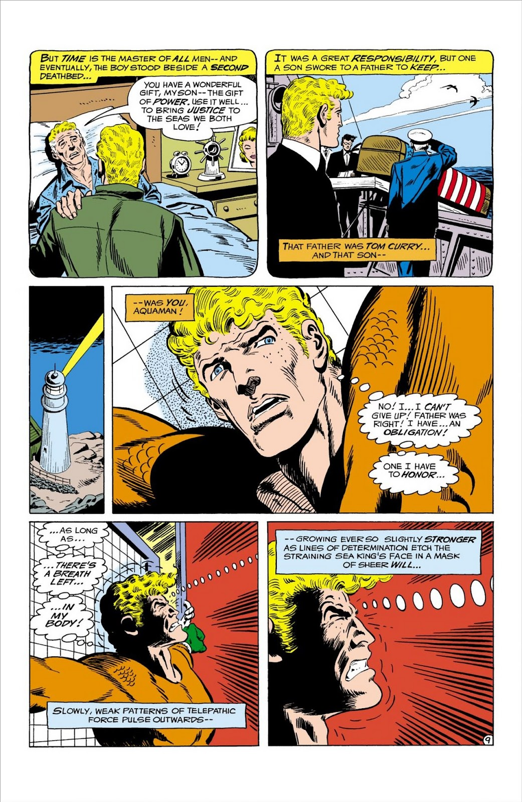 Aquaman (1962) Issue #58 #58 - English 10
