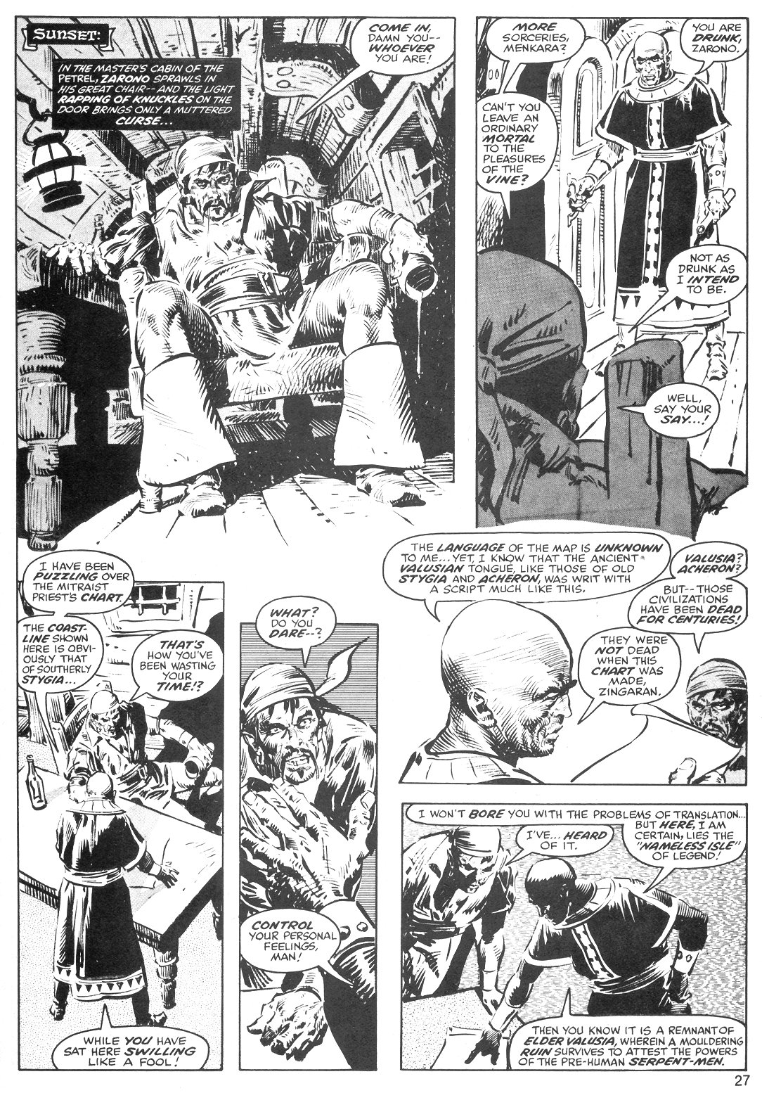The Savage Sword Of Conan Issue #40 #41 - English 27