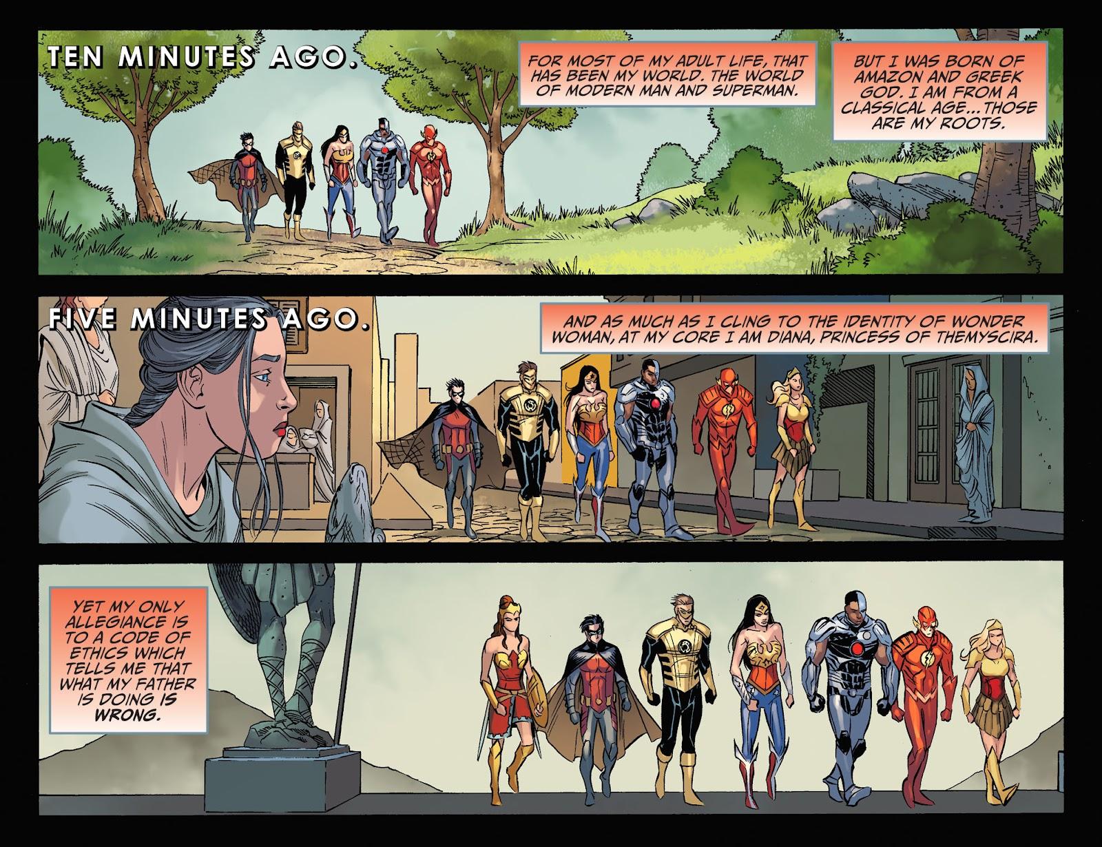 Injustice: Gods Among Us Year Four Issue #23 #24 - English 5