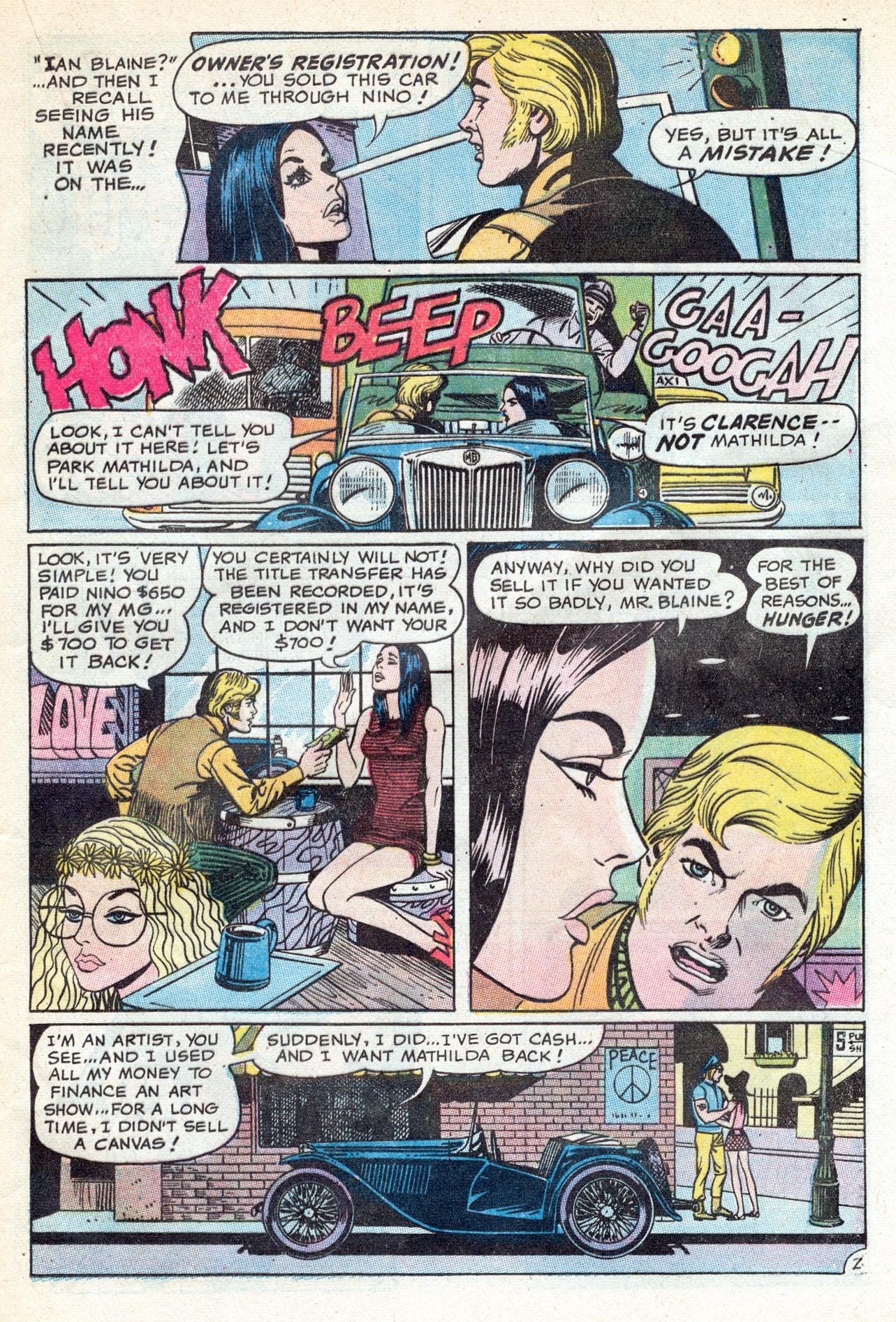 Read online Secret Hearts comic -  Issue #149 - 21