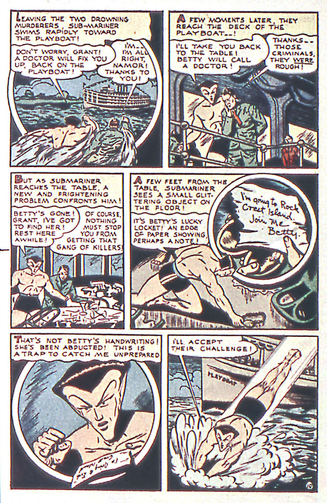 Sub-Mariner Comics Issue #16 #16 - English 12