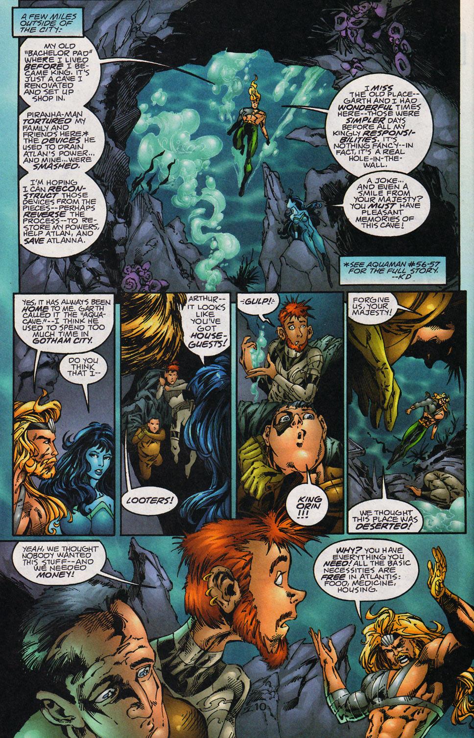 Aquaman (1994) Issue #59 #65 - English 11