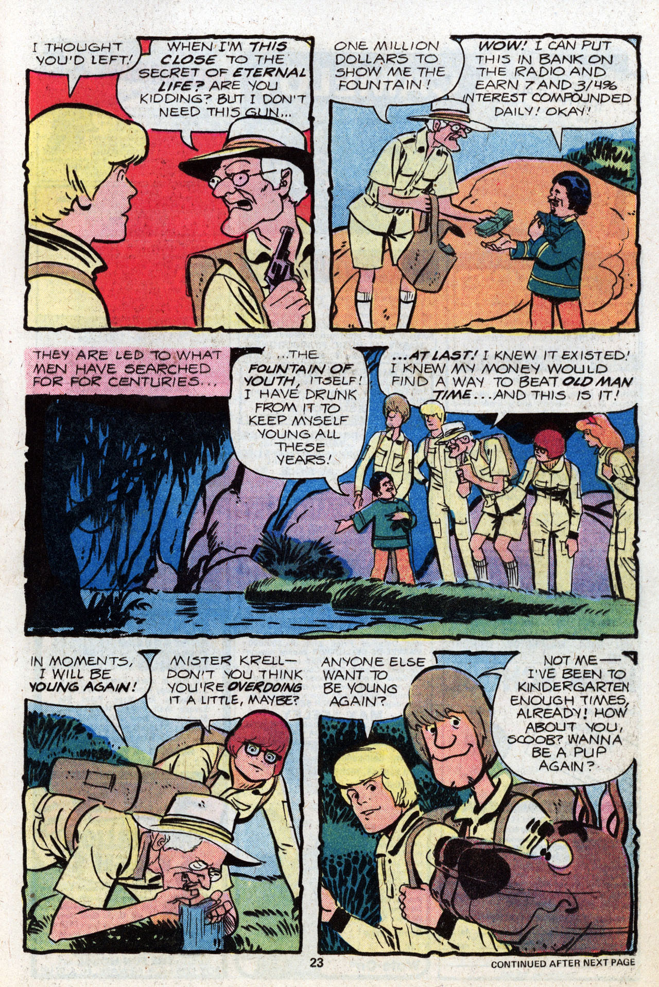 Read online Scooby-Doo (1977) comic -  Issue #8 - 24
