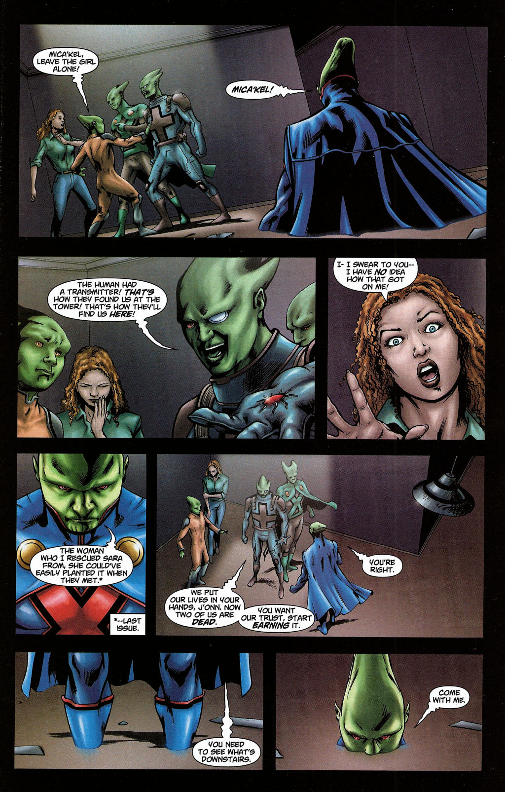 Read online Martian Manhunter (2006) comic -  Issue #5 - 15