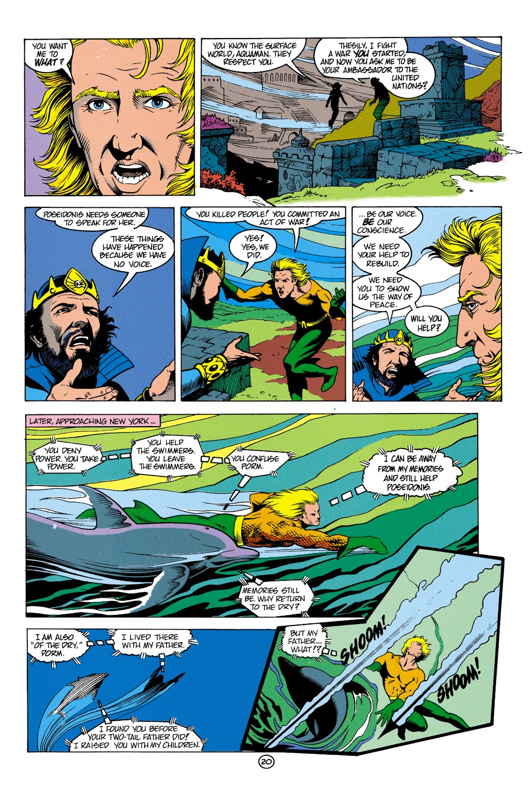 Aquaman (1991) Issue #4 #4 - English 21
