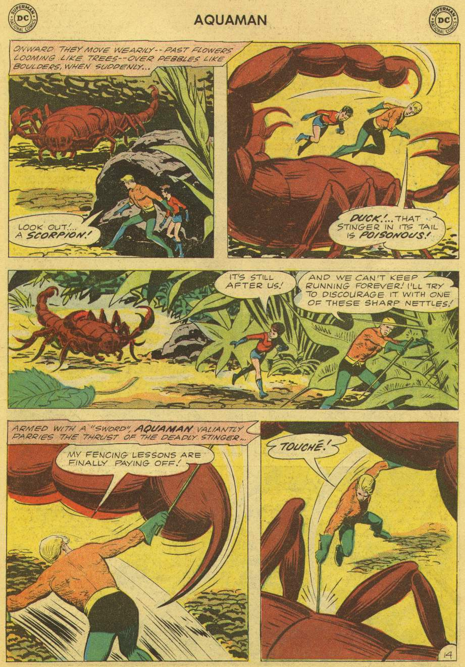 Read online Aquaman (1962) comic -  Issue #1 - 19