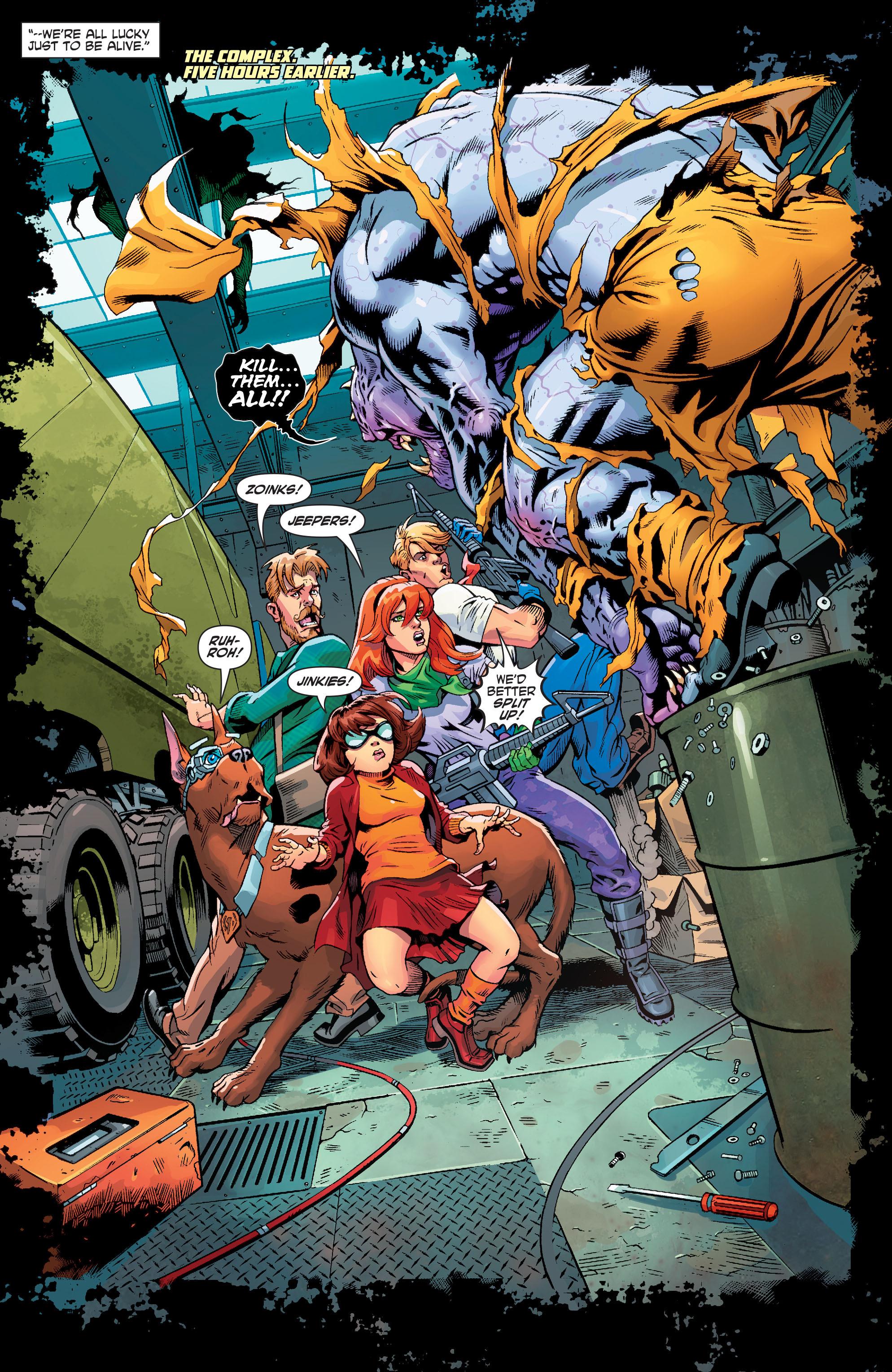 Read online Scooby Apocalypse comic -  Issue #3 - 7