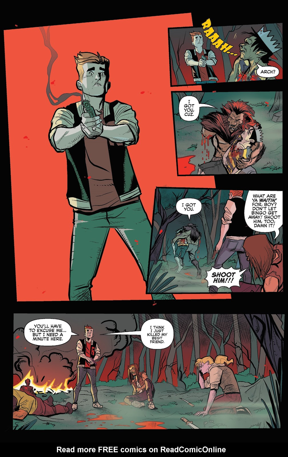 Jughead The Hunger Issue #3 #4 - English 18