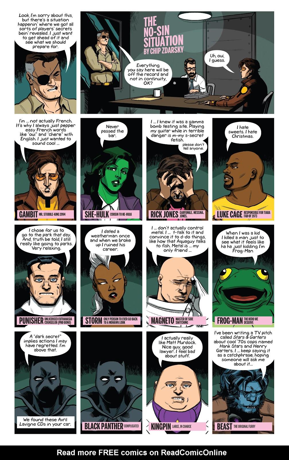Original Sins Issue #5 #5 - English 21