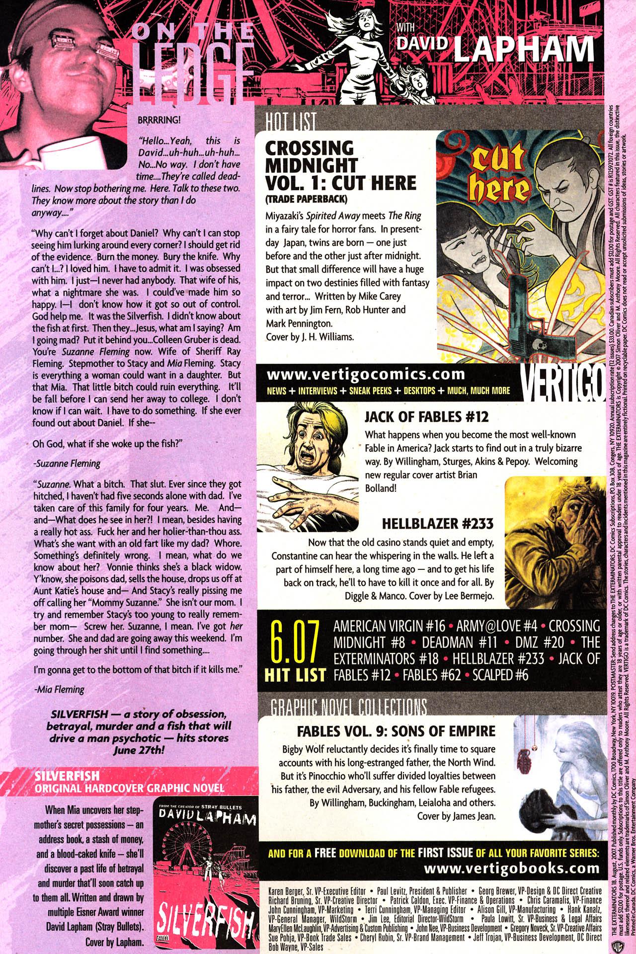 The Exterminators 18 Page 24