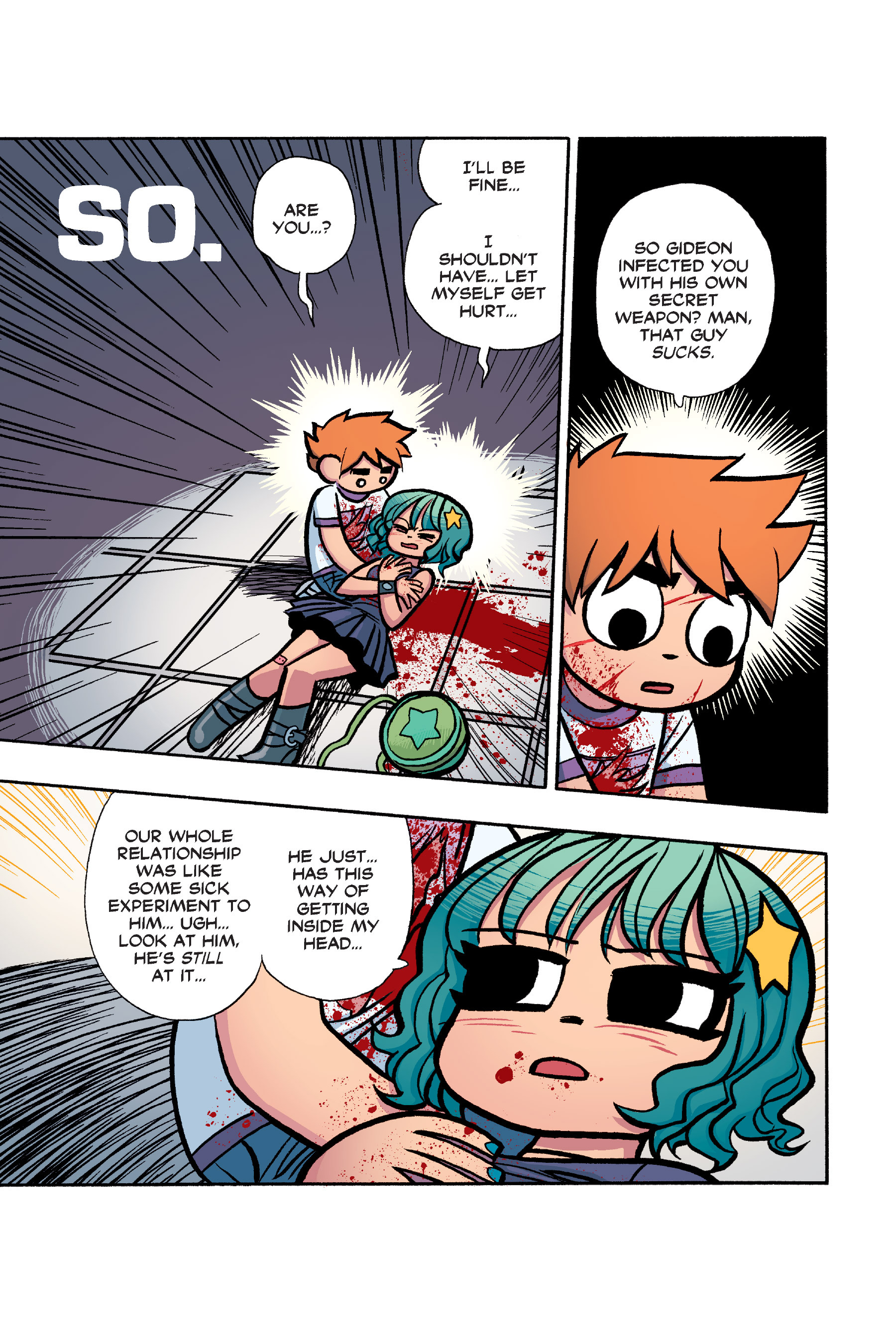 Read online Scott Pilgrim comic -  Issue #6 - 164
