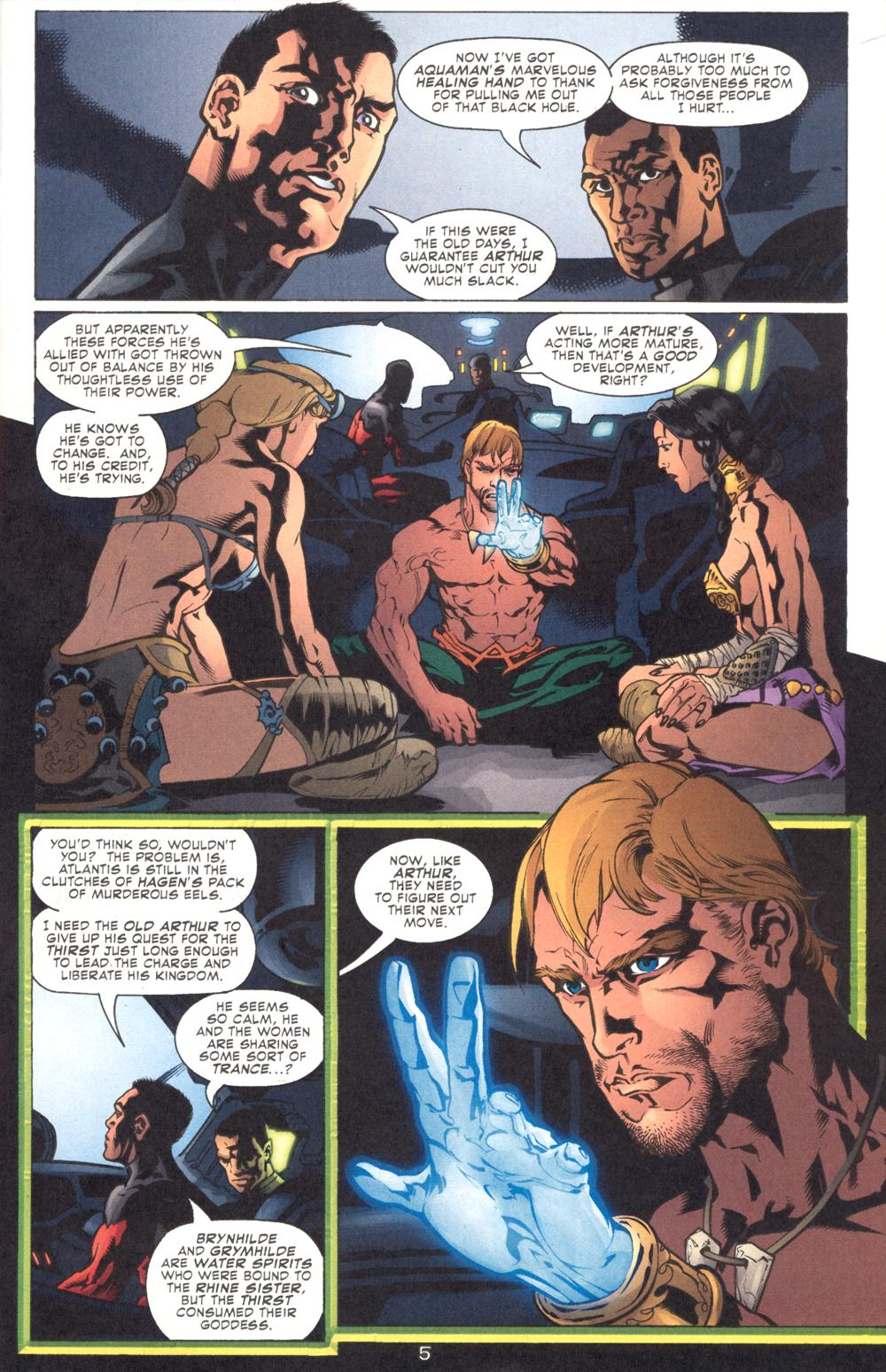 Aquaman (2003) Issue #9 #9 - English 7