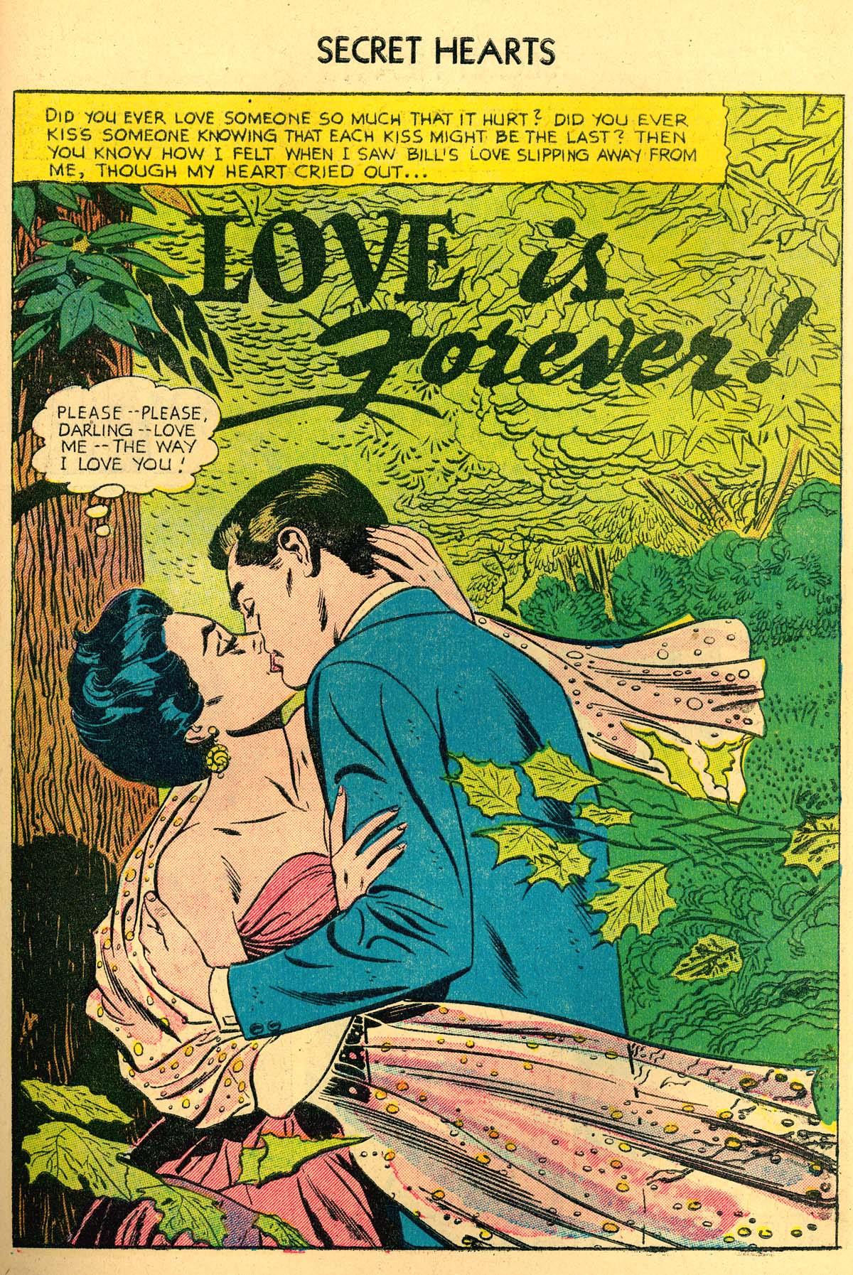Read online Secret Hearts comic -  Issue #35 - 27