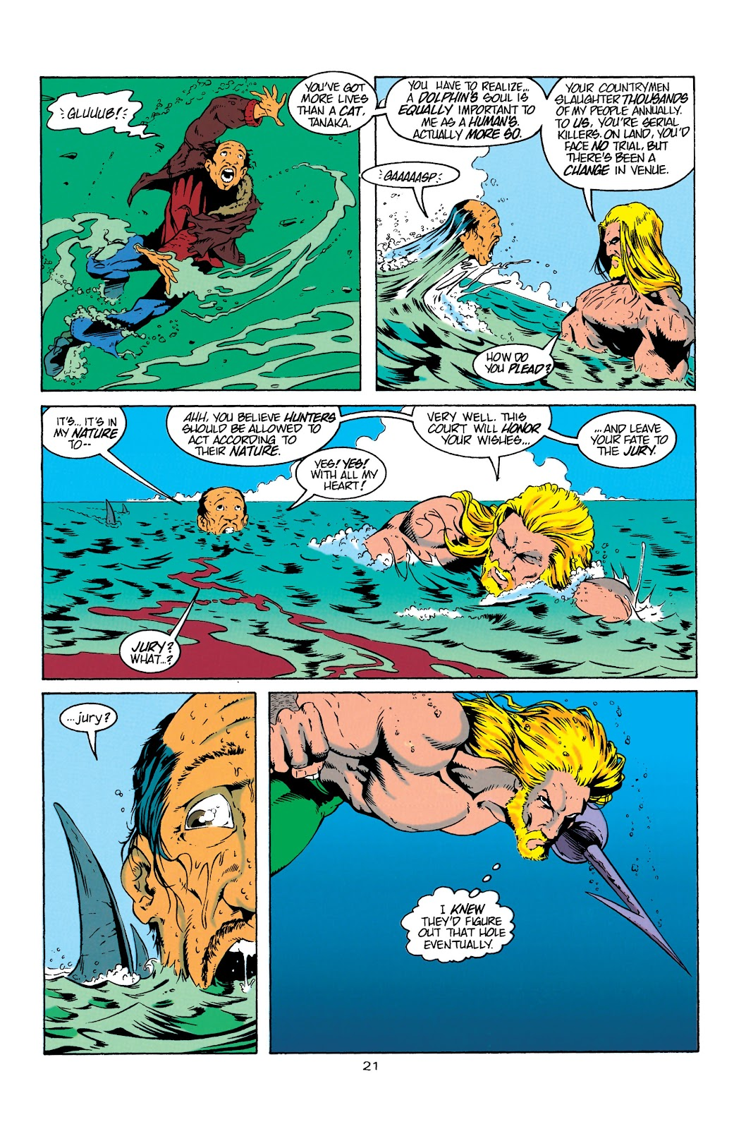 Aquaman (1994) Issue #4 #10 - English 22