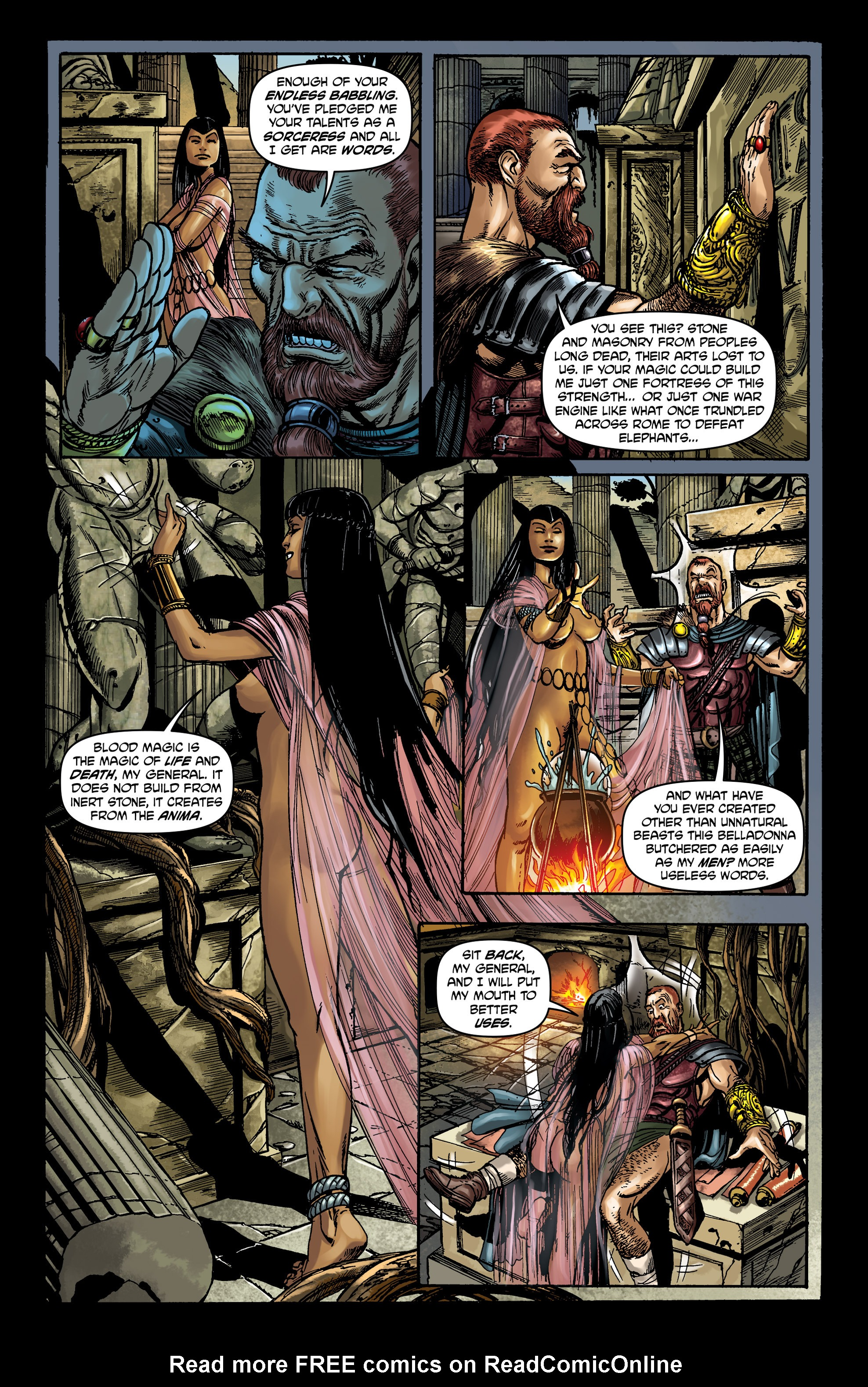 Read online Belladonna comic -  Issue #0 - 15
