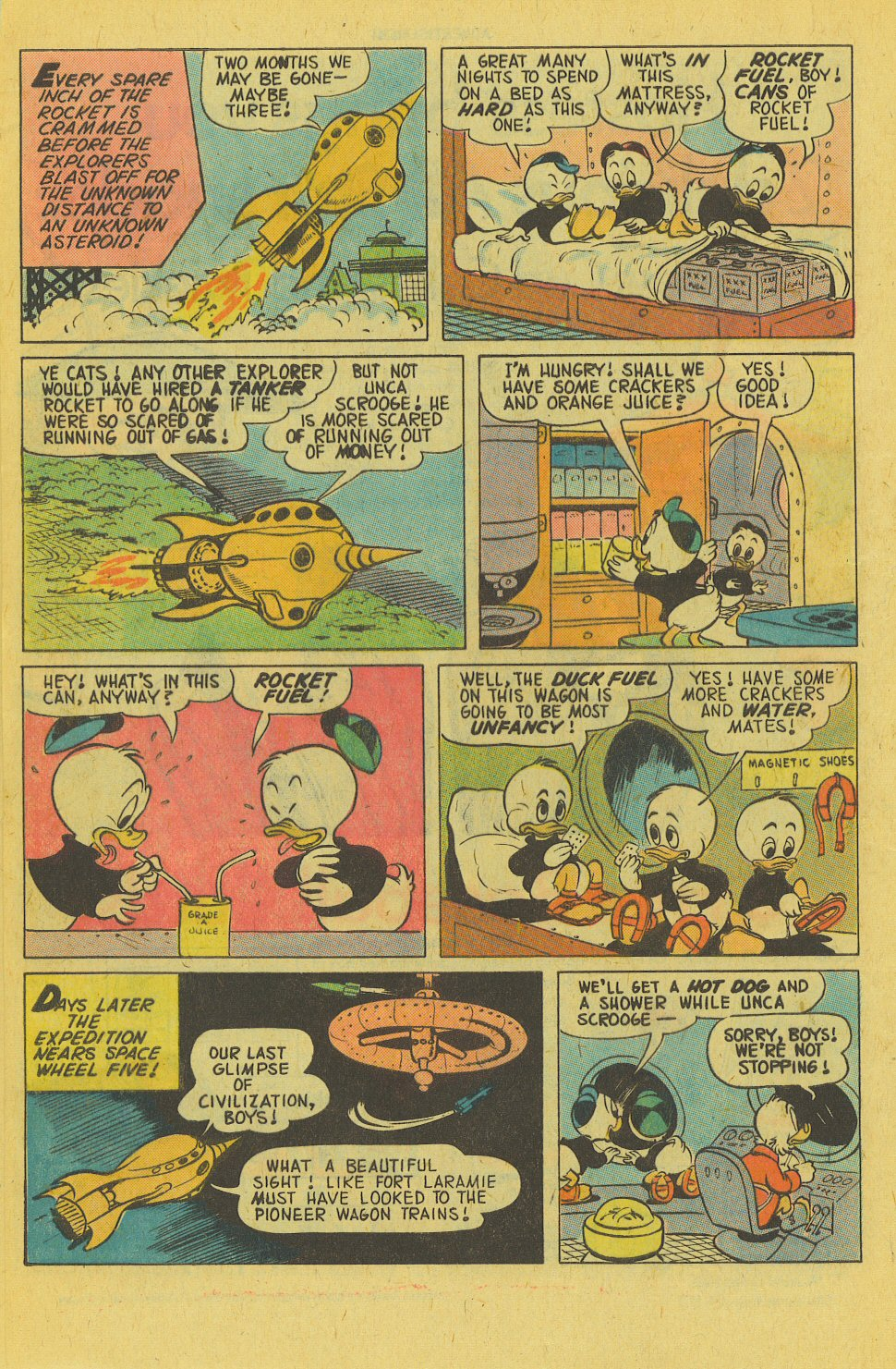 Uncle Scrooge (1953) Issue #143 #143 - English 8