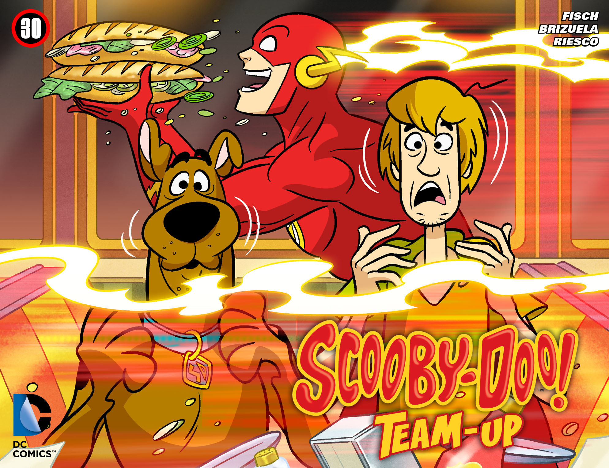 Read online Scooby-Doo! Team-Up comic -  Issue #30 - 1