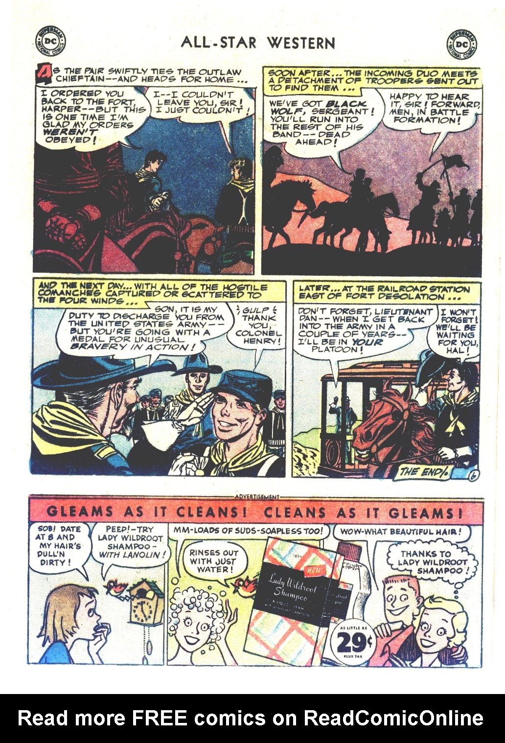 Read online All-Star Western (1951) comic -  Issue #66 - 17