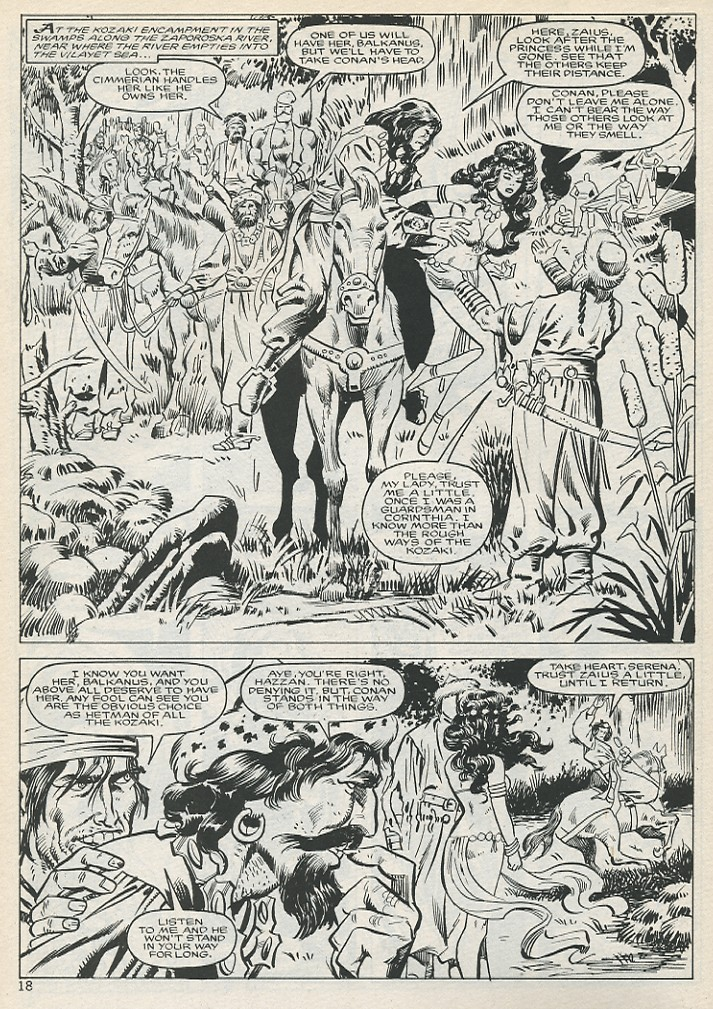 The Savage Sword Of Conan Issue #131 #132 - English 18