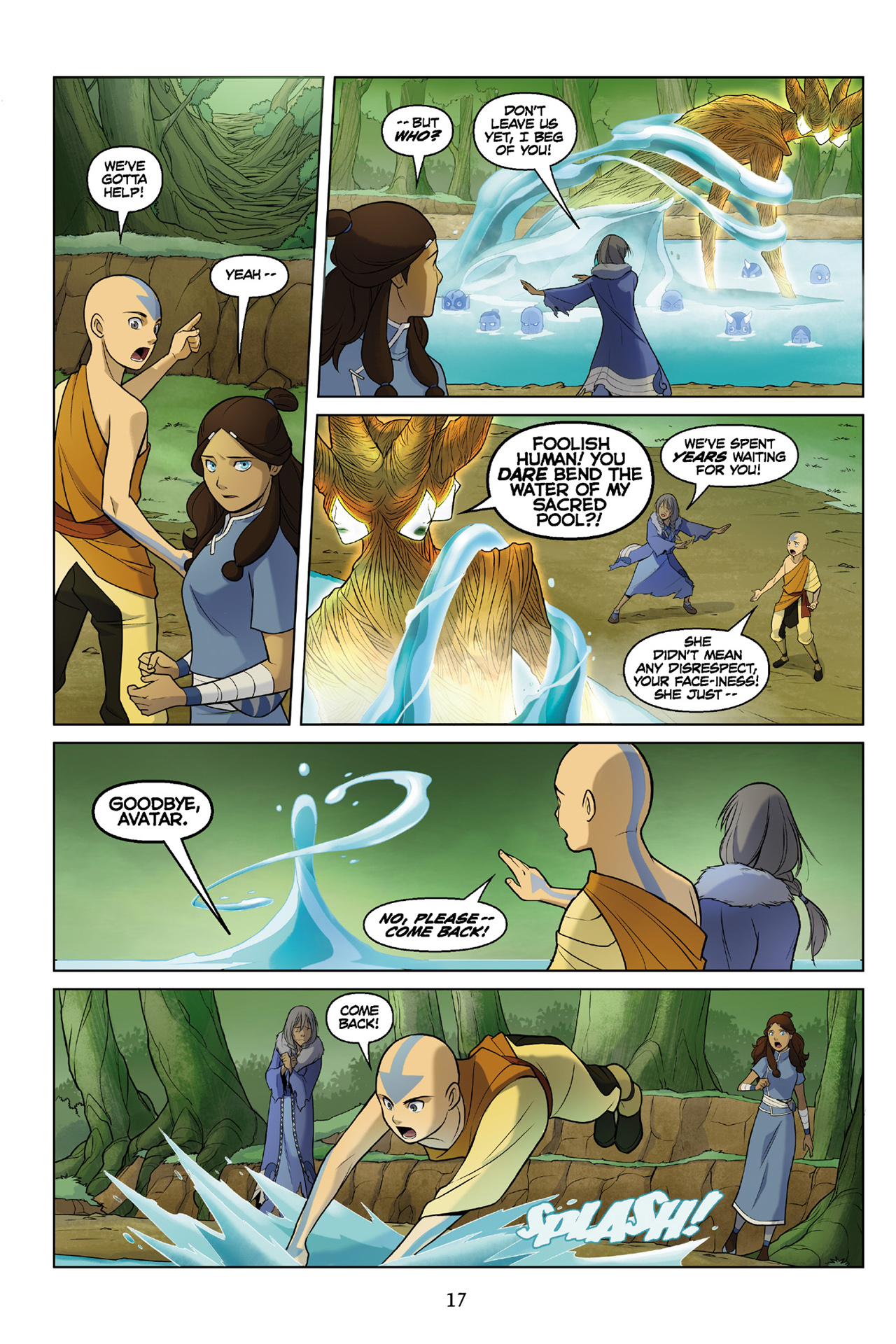 Read online Nickelodeon Avatar: The Last Airbender - The Search comic -  Issue # Part 3 - 18