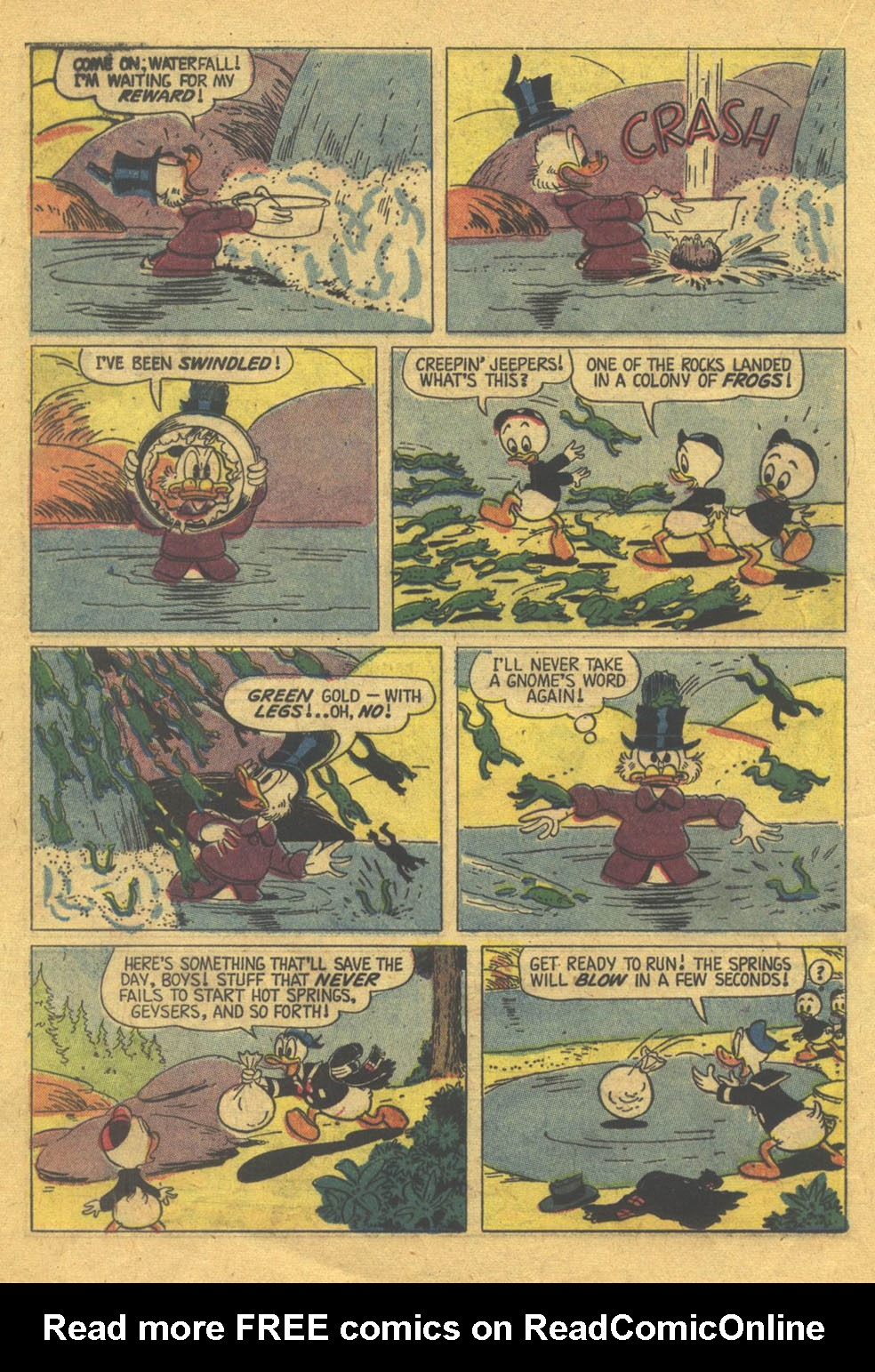 Uncle Scrooge (1953) Issue #22 #22 - English 24