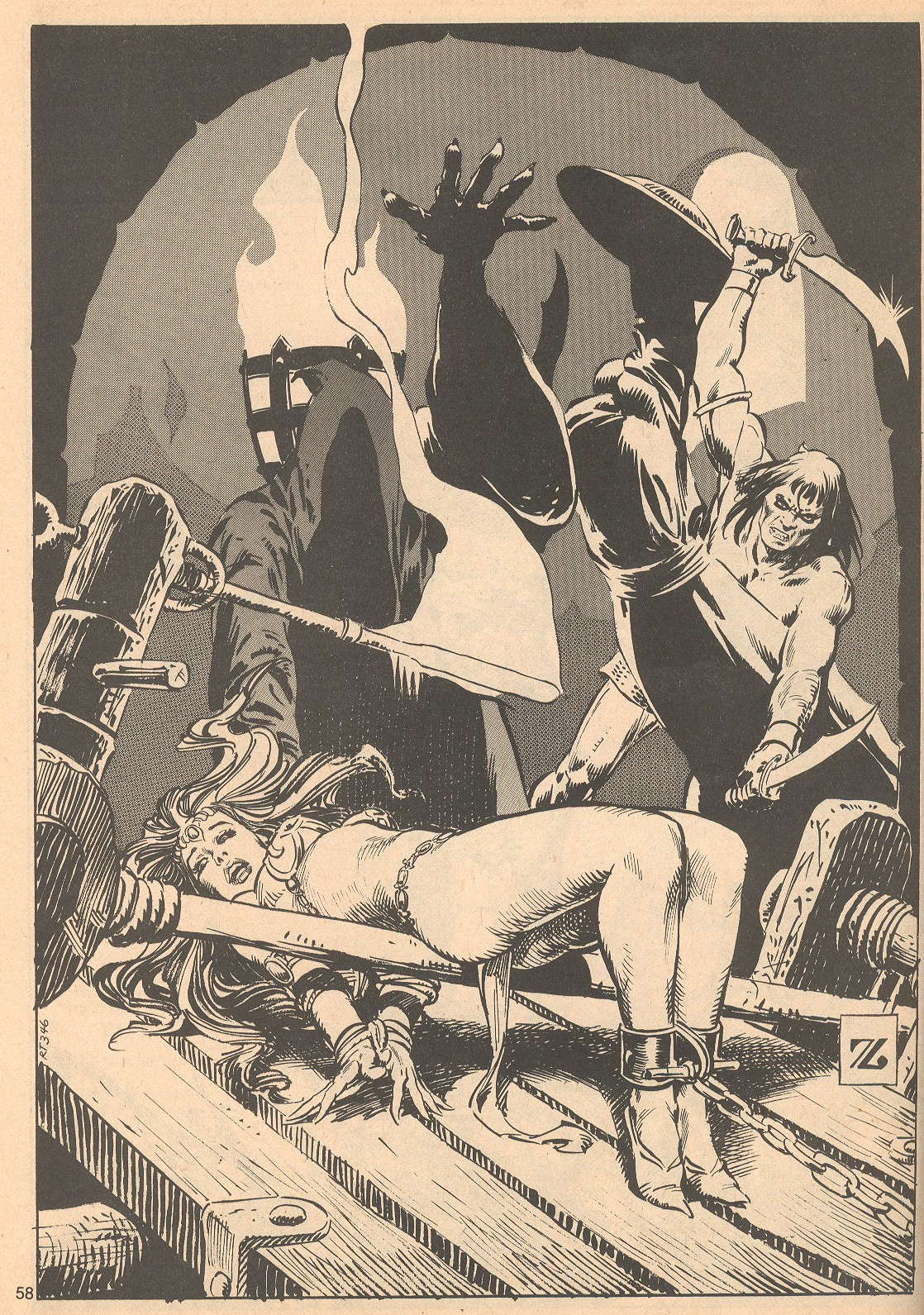 The Savage Sword Of Conan Issue #56 #57 - English 58