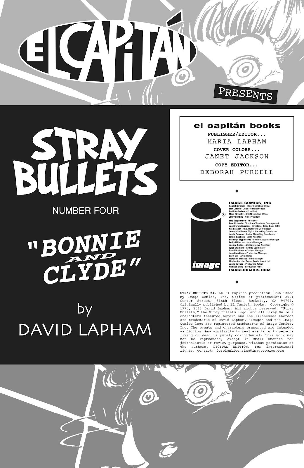 Stray Bullets Issue #4 #4 - English 2