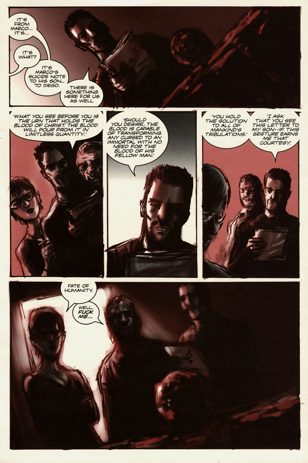 Read online Sea of Red comic -  Issue #13 - 20