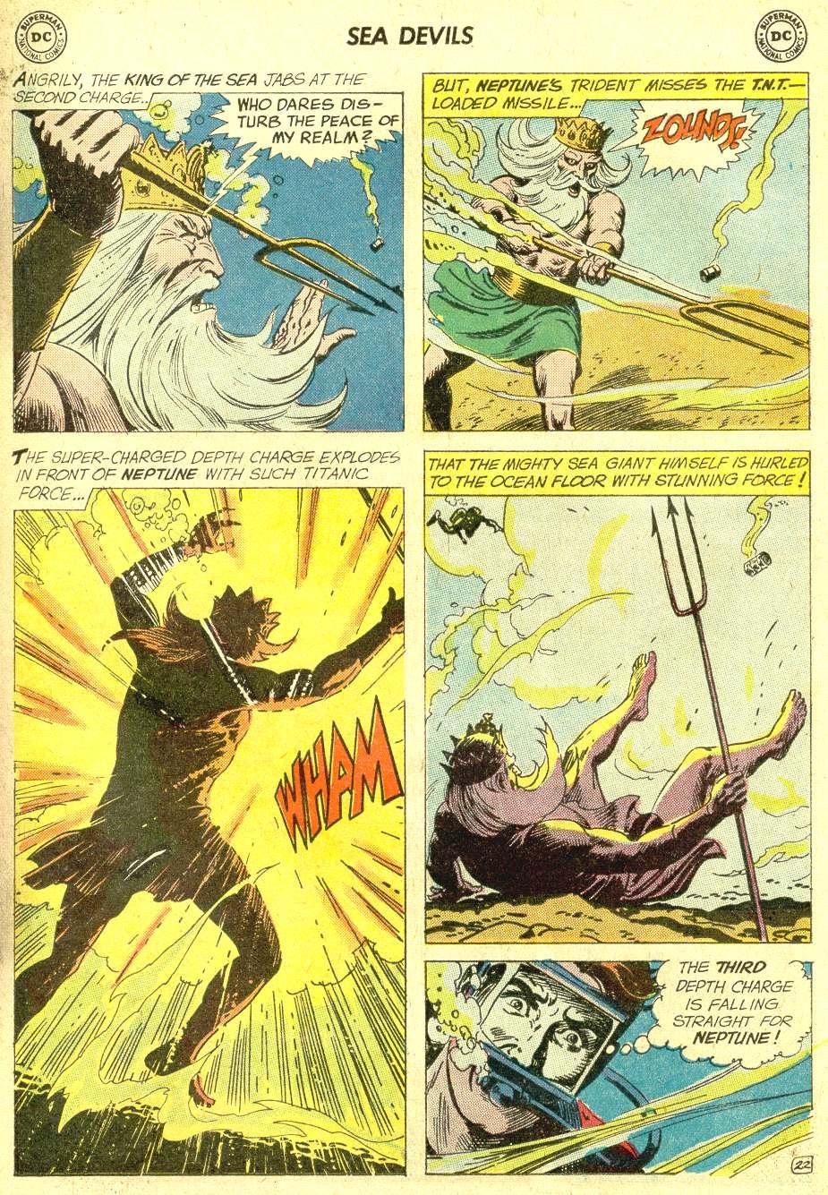 Read online Sea Devils comic -  Issue #10 - 30