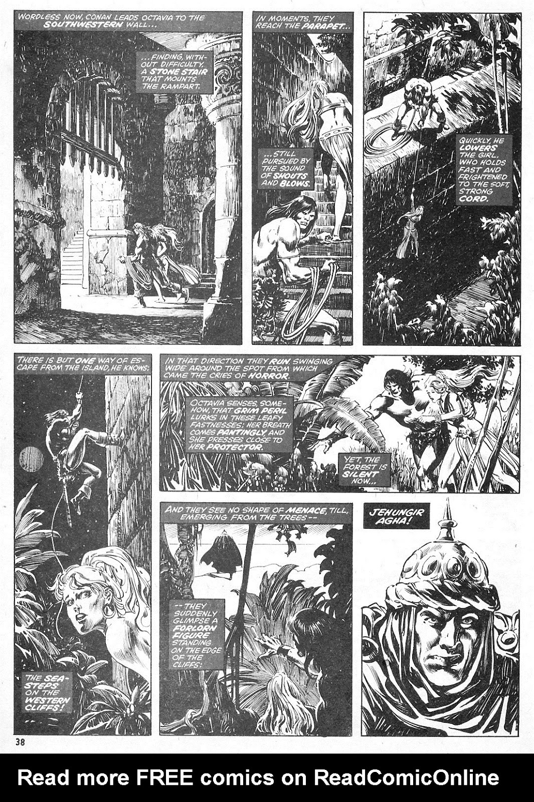 The Savage Sword Of Conan Issue #15 #16 - English 38