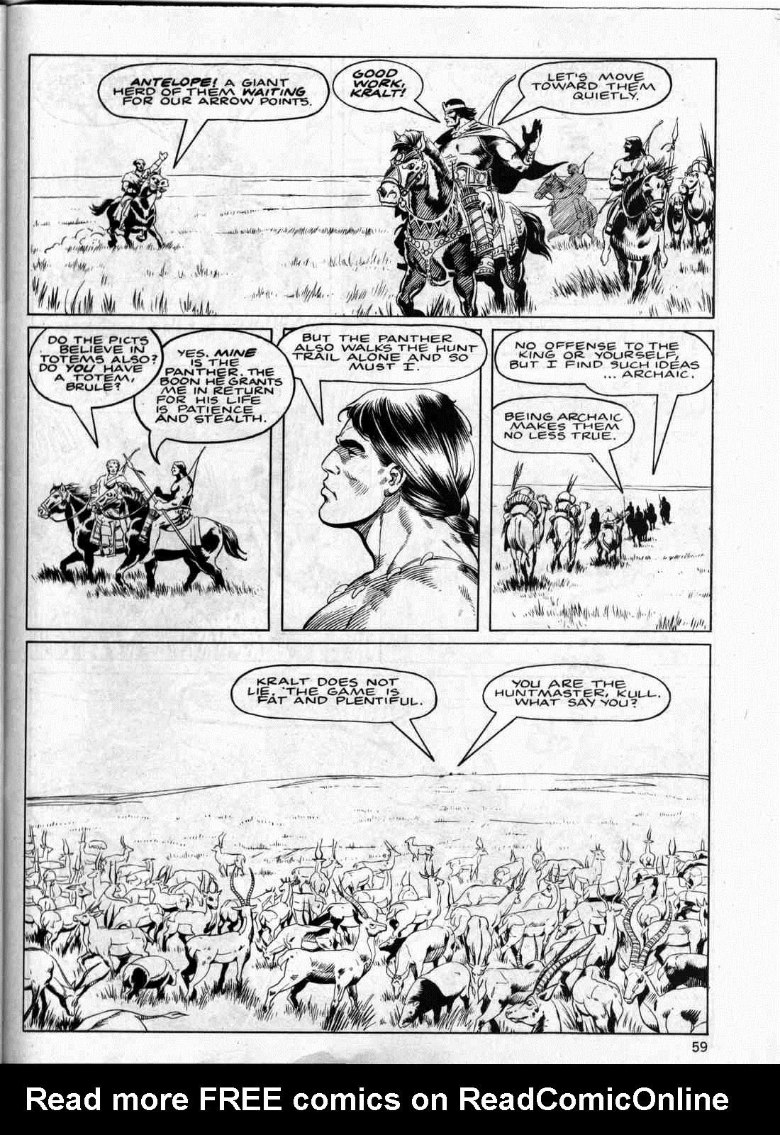 The Savage Sword Of Conan Issue #133 #134 - English 58