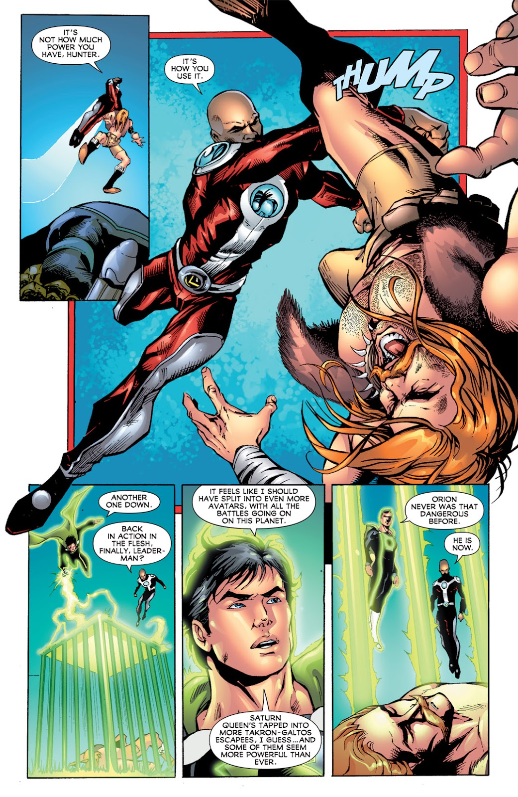 Legion of Super-Heroes (2010) Issue #15 #16 - English 16