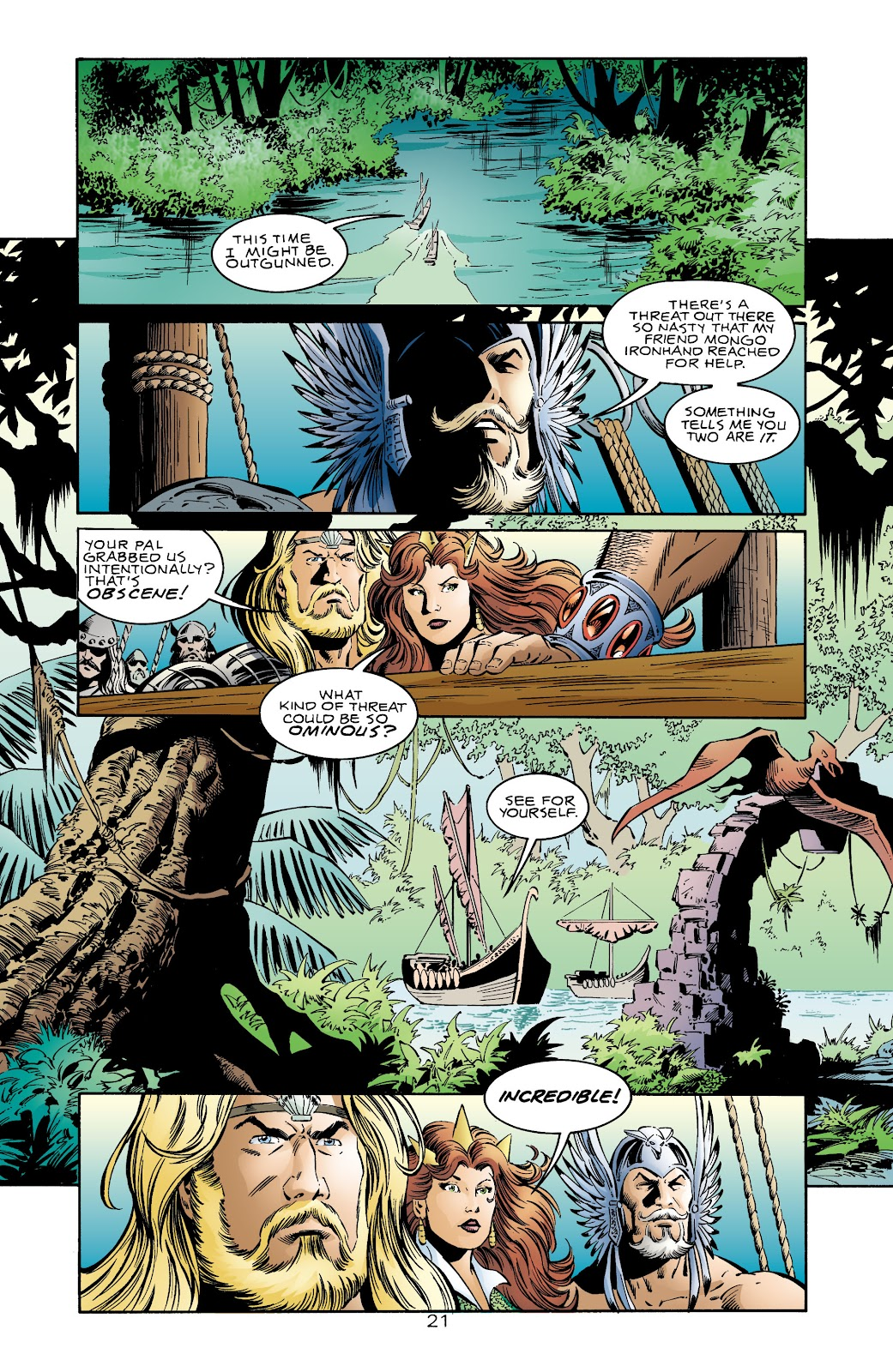 Aquaman (1994) Issue #71 #77 - English 21
