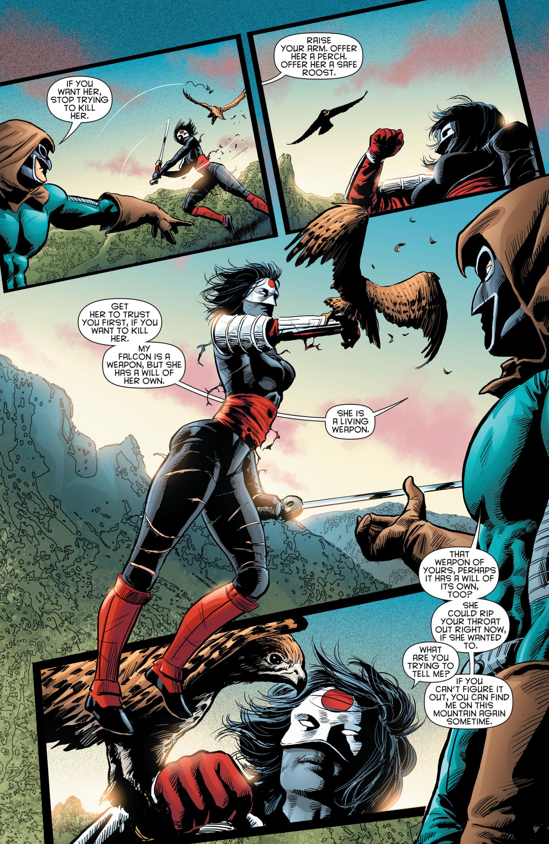 Read online Katana comic -  Issue #8 - 17