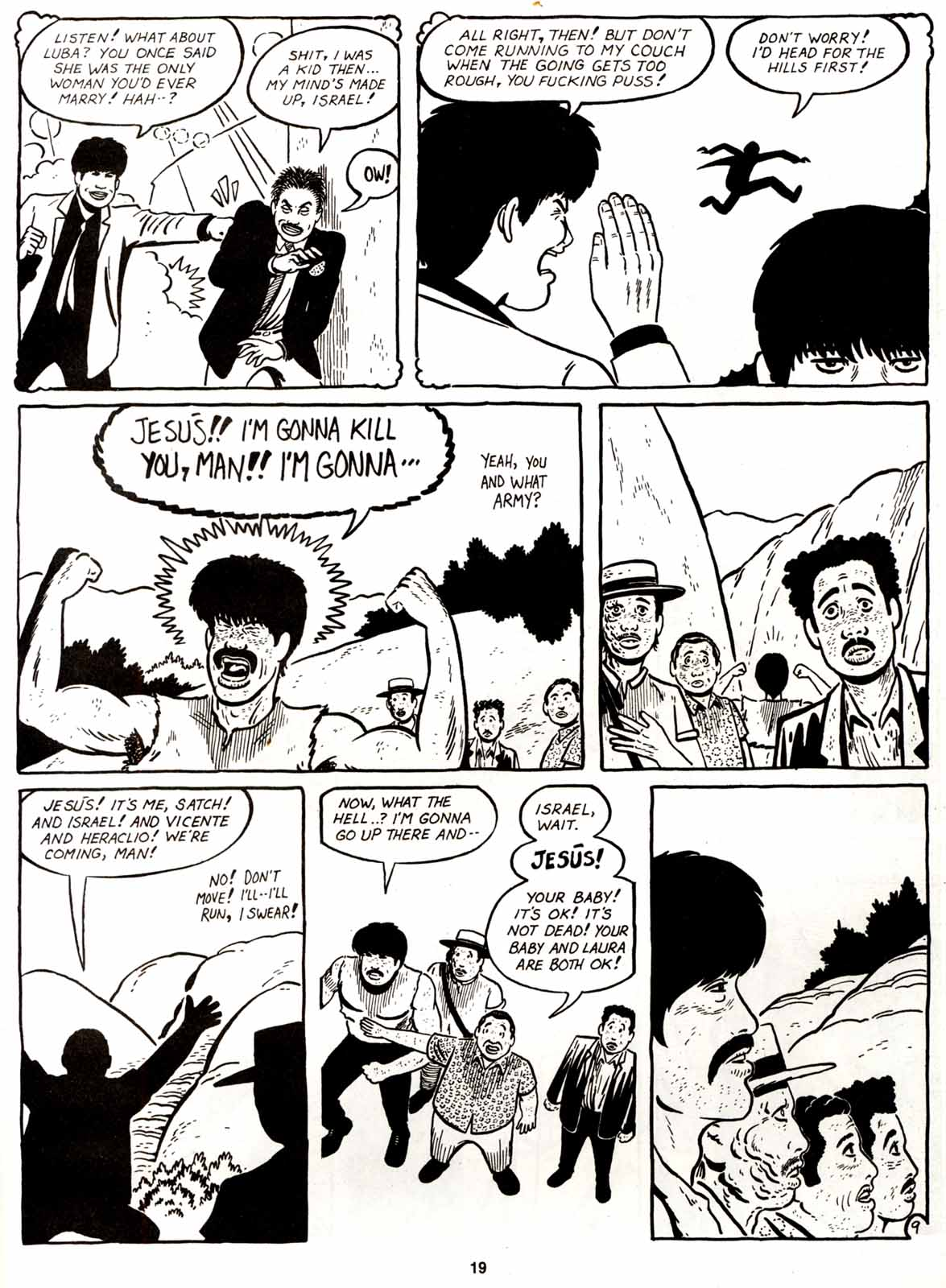 Love and Rockets (1982) Issue #9 #8 - English 21