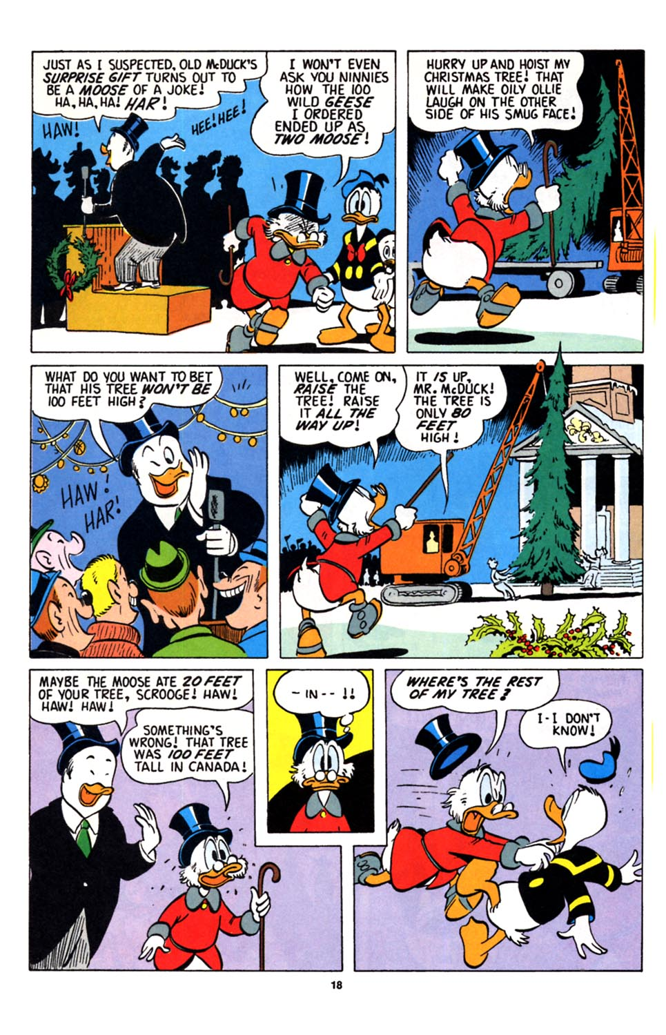 Uncle Scrooge (1953) Issue #251 #251 - English 19