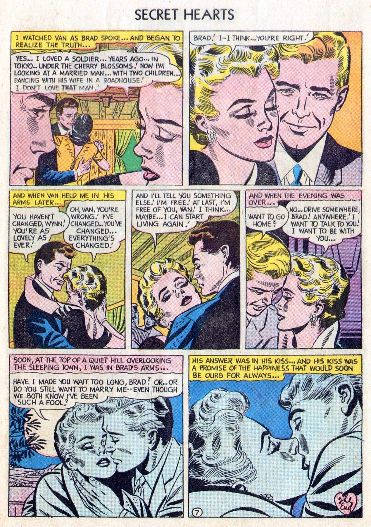 Read online Secret Hearts comic -  Issue #28 - 9