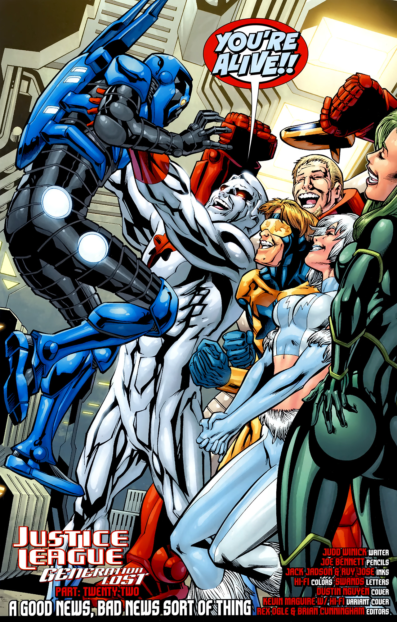 Read online Justice League: Generation Lost comic -  Issue #22 - 4
